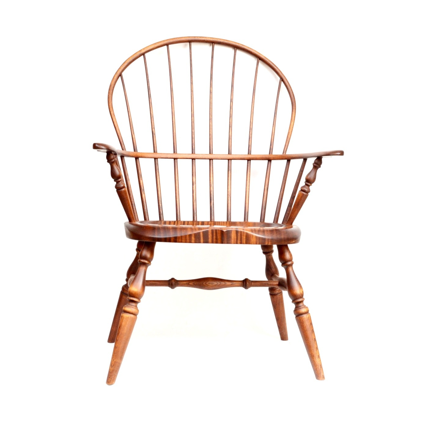 Hand Crafted Windsor Chair  by J. Brown of Maine
