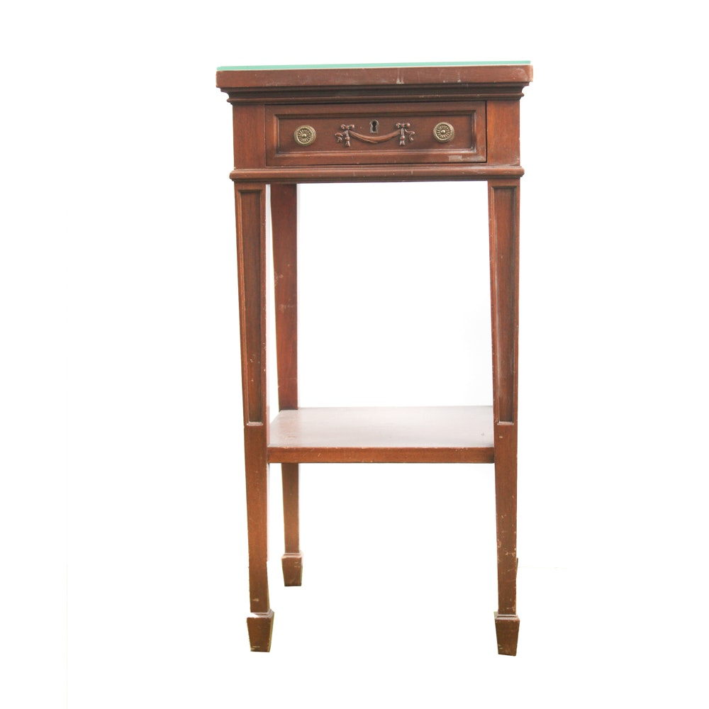 Neoclassical Style Side Table