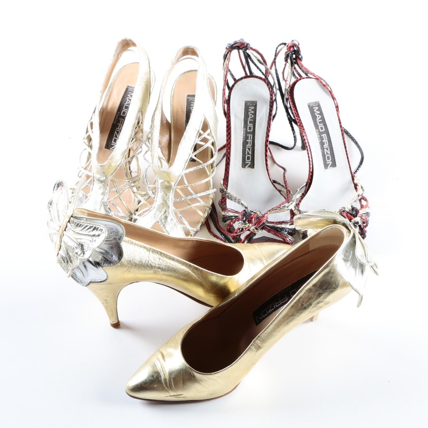 3da737d498de2 Vintage 1980s Maud Frizon Vintage High Heels