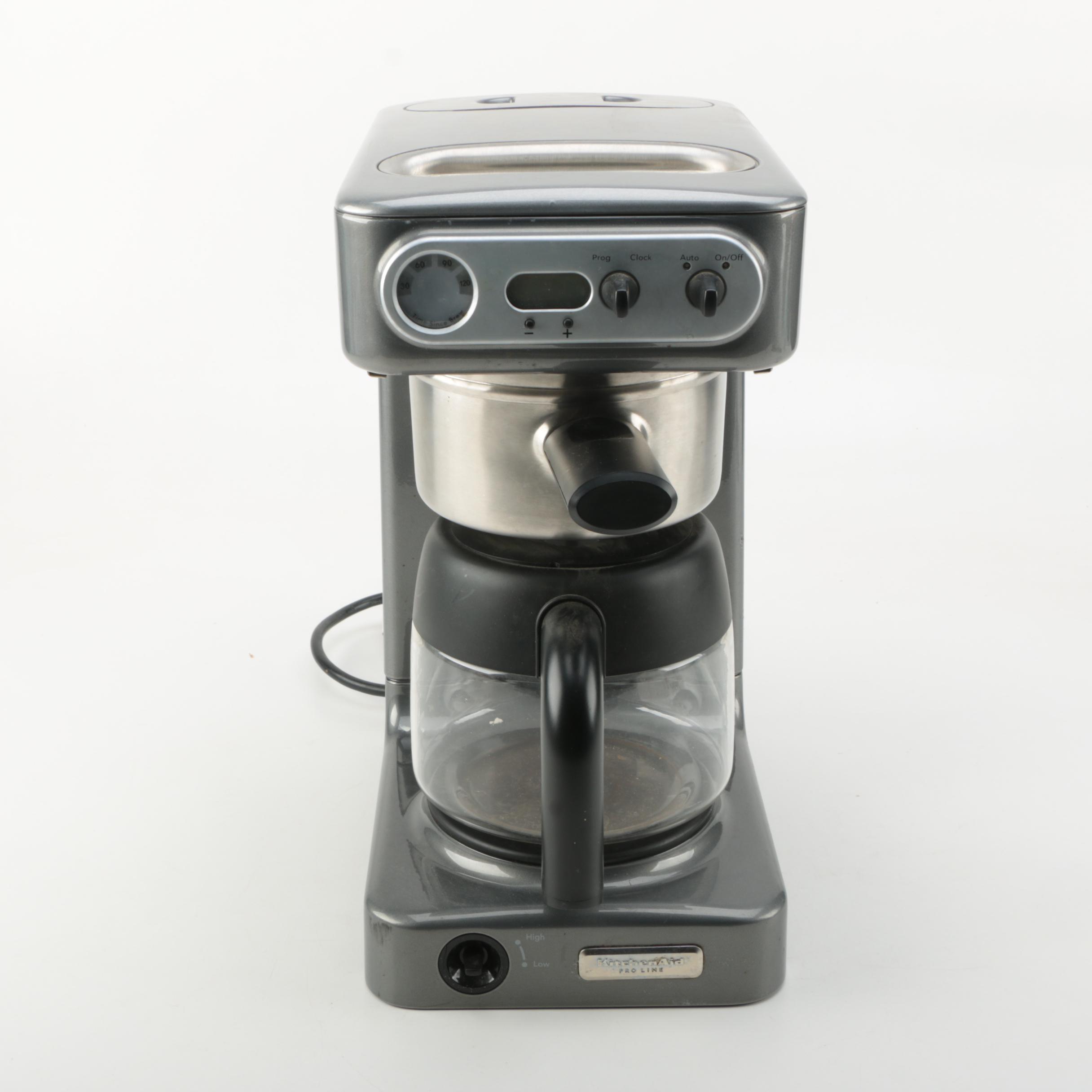 kitchen aid pro line coffee maker vintage kitchen appliances auctions   used kitchen appliances in      rh   ebth com