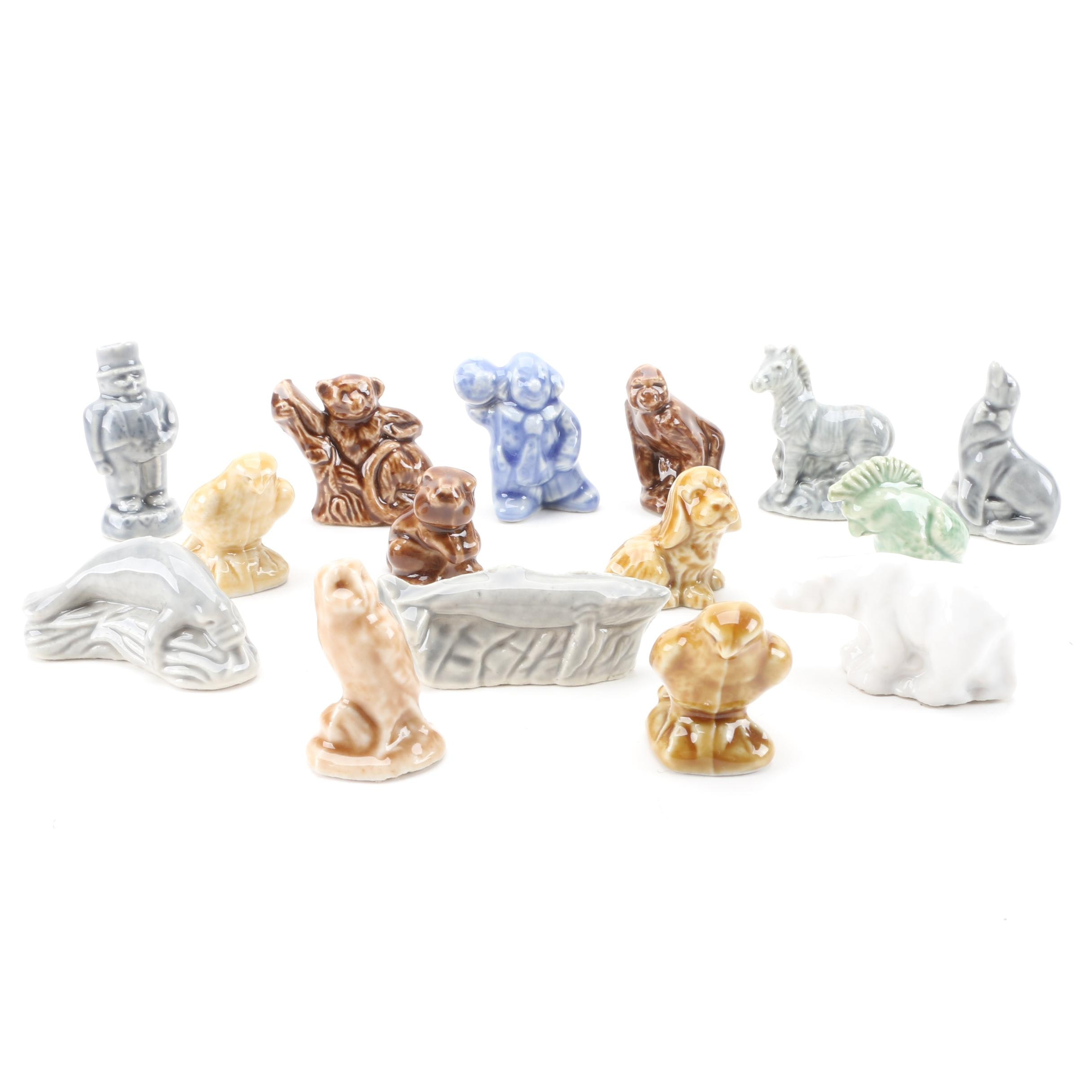 Wade Whimsies Style Ceramic Figurines