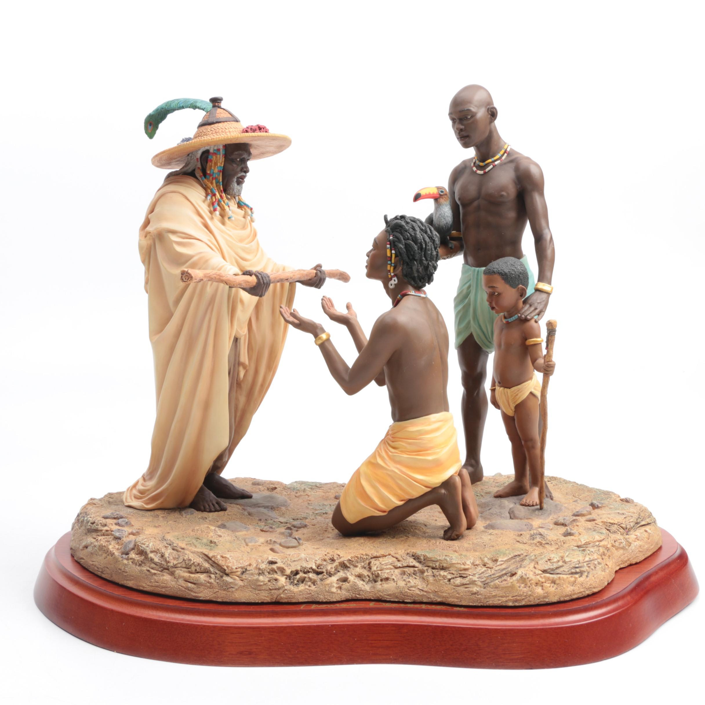 Ebony visions thomas blackshear figurines