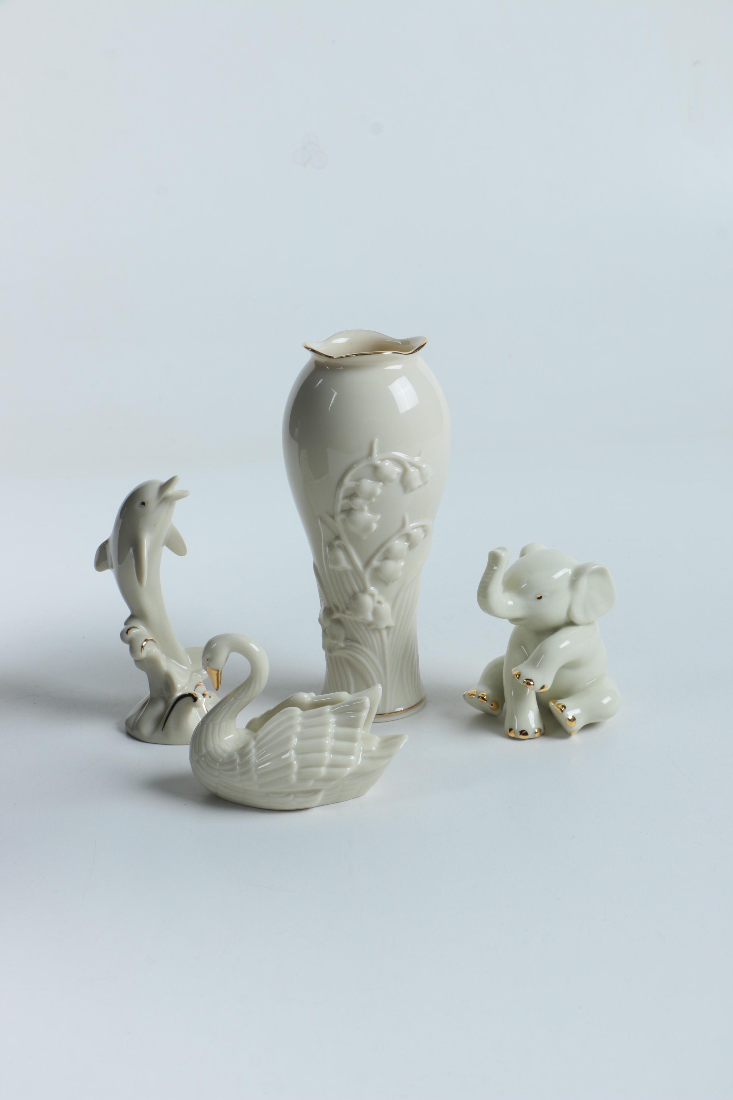 Lenox vases lenox 12 in harlequin crystal vase lenox woodland lenox bluebell bud vase and animal figurines reviewsmspy