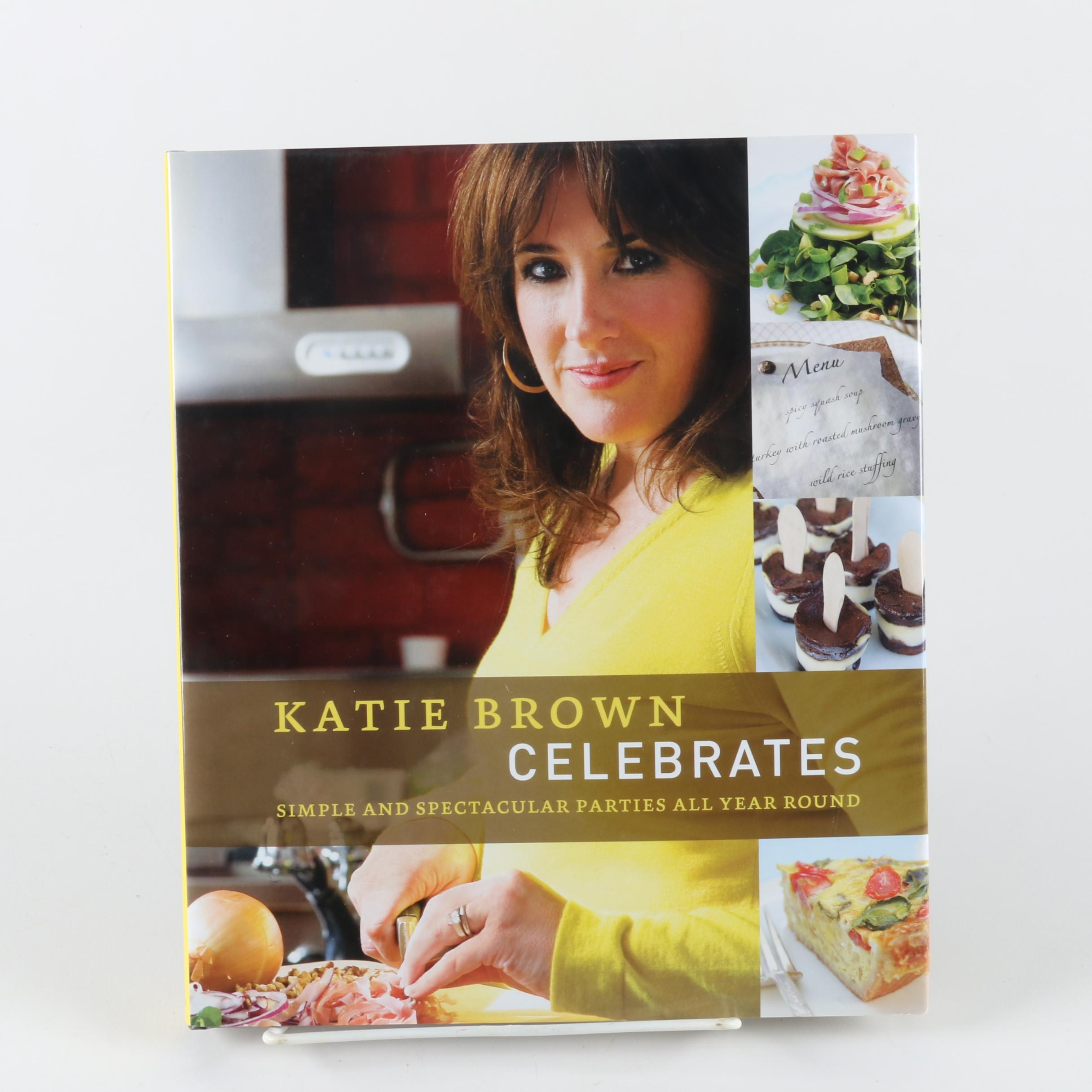 """Katie Brown Celebrates"" Autographed Book"
