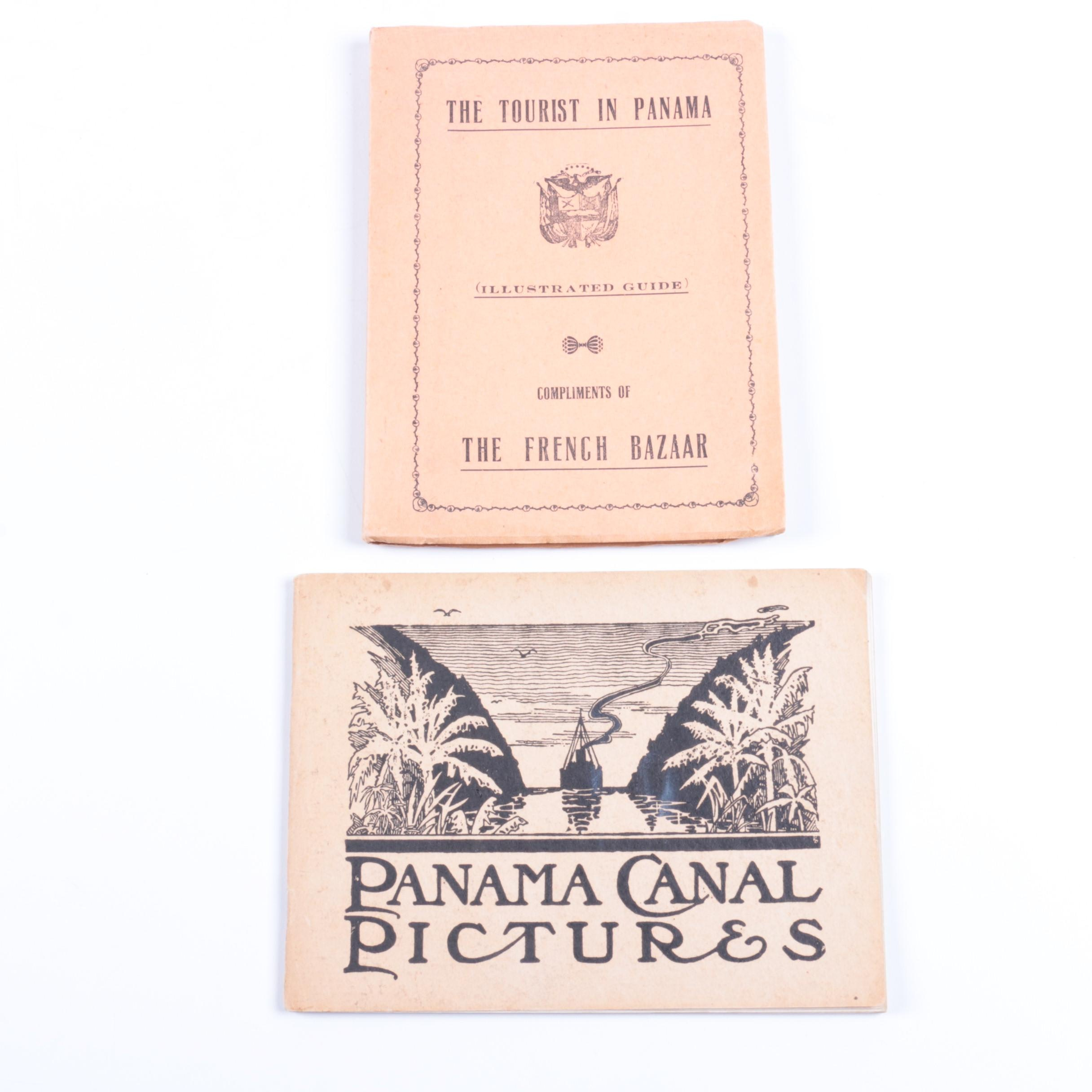 """Pair of Books on Panama Including """"The Tourist in Panama"""""""