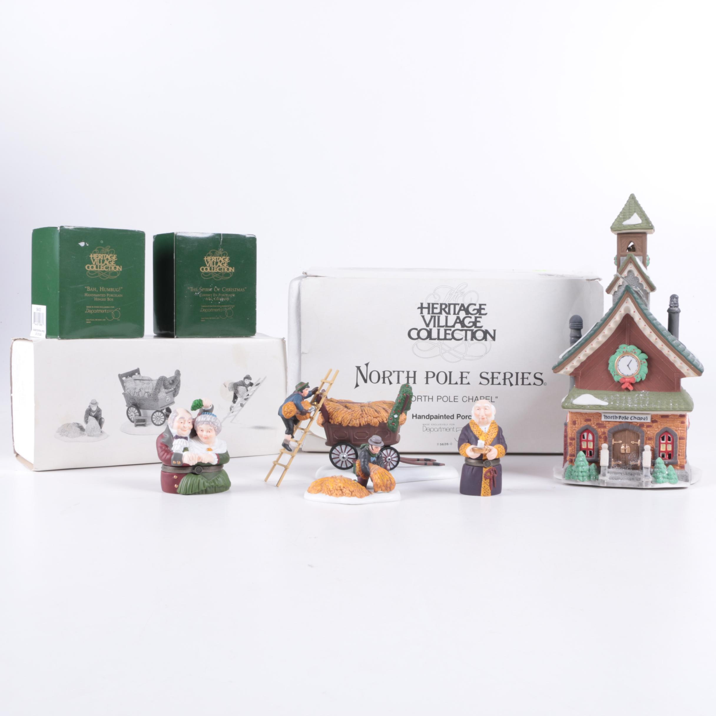 Assorted Heritage Village Collection Christmas Decor