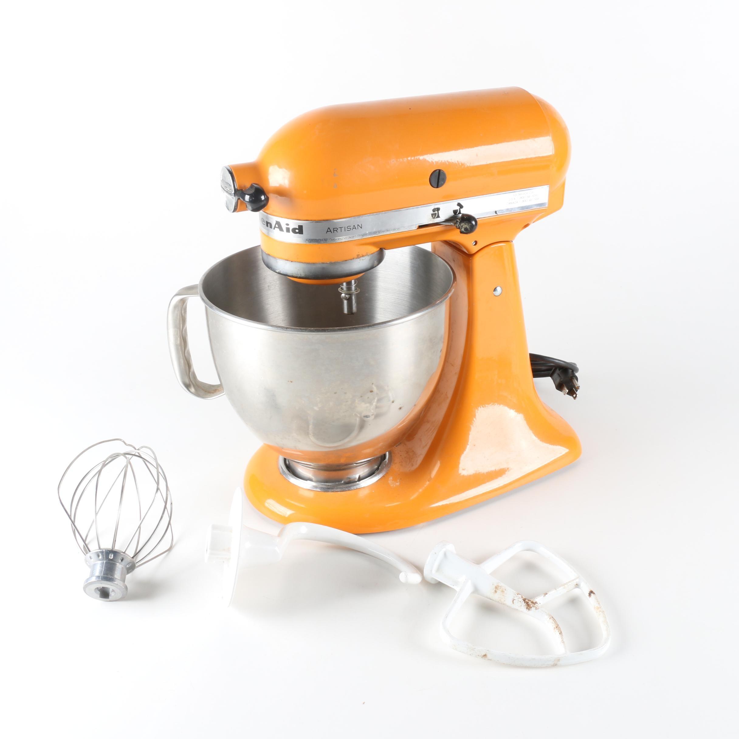 kitchenaid artisan stand mixer vintage kitchen appliances auctions   used kitchen appliances in      rh   ebth com