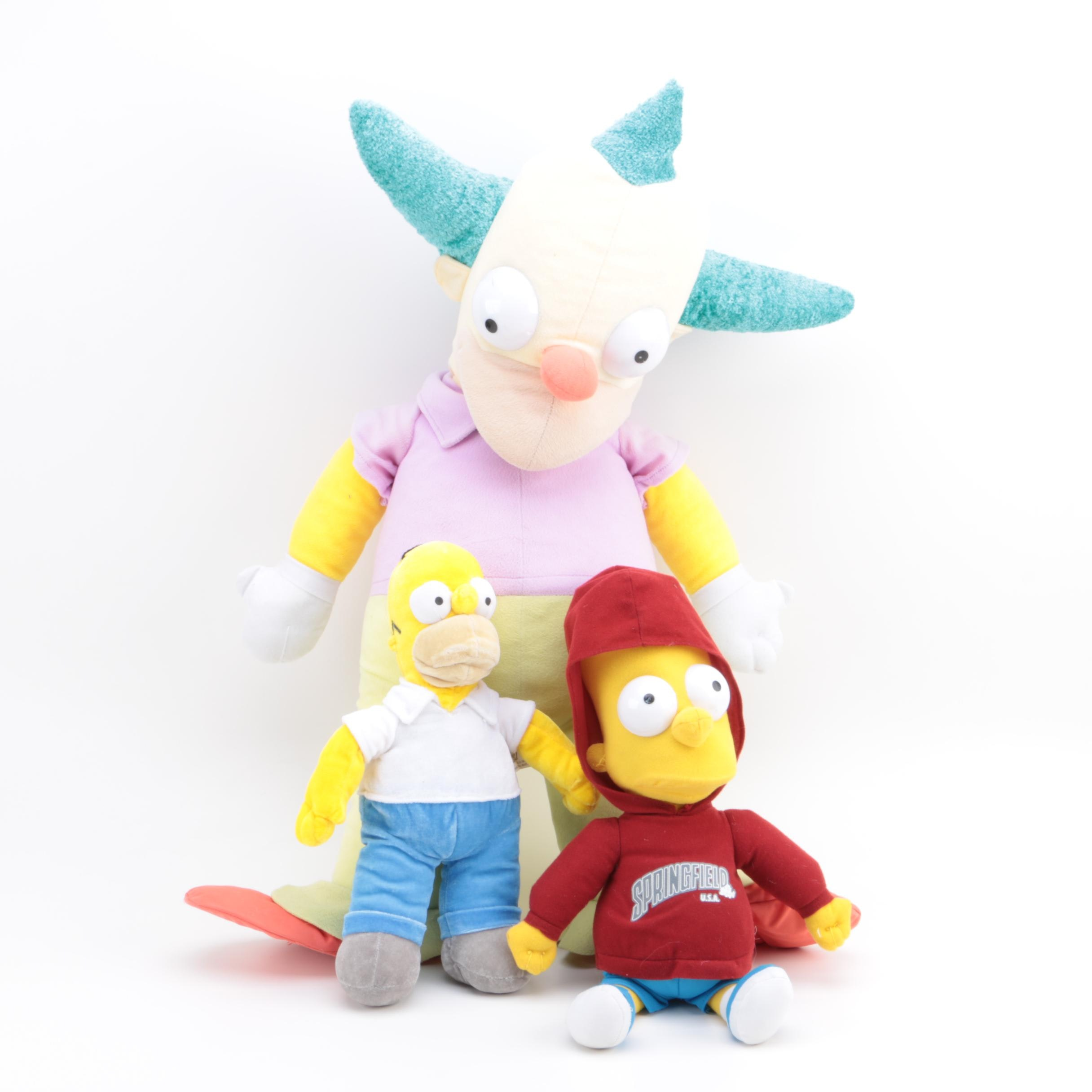 """""""The Simpsons"""" Stuffed Toys"""