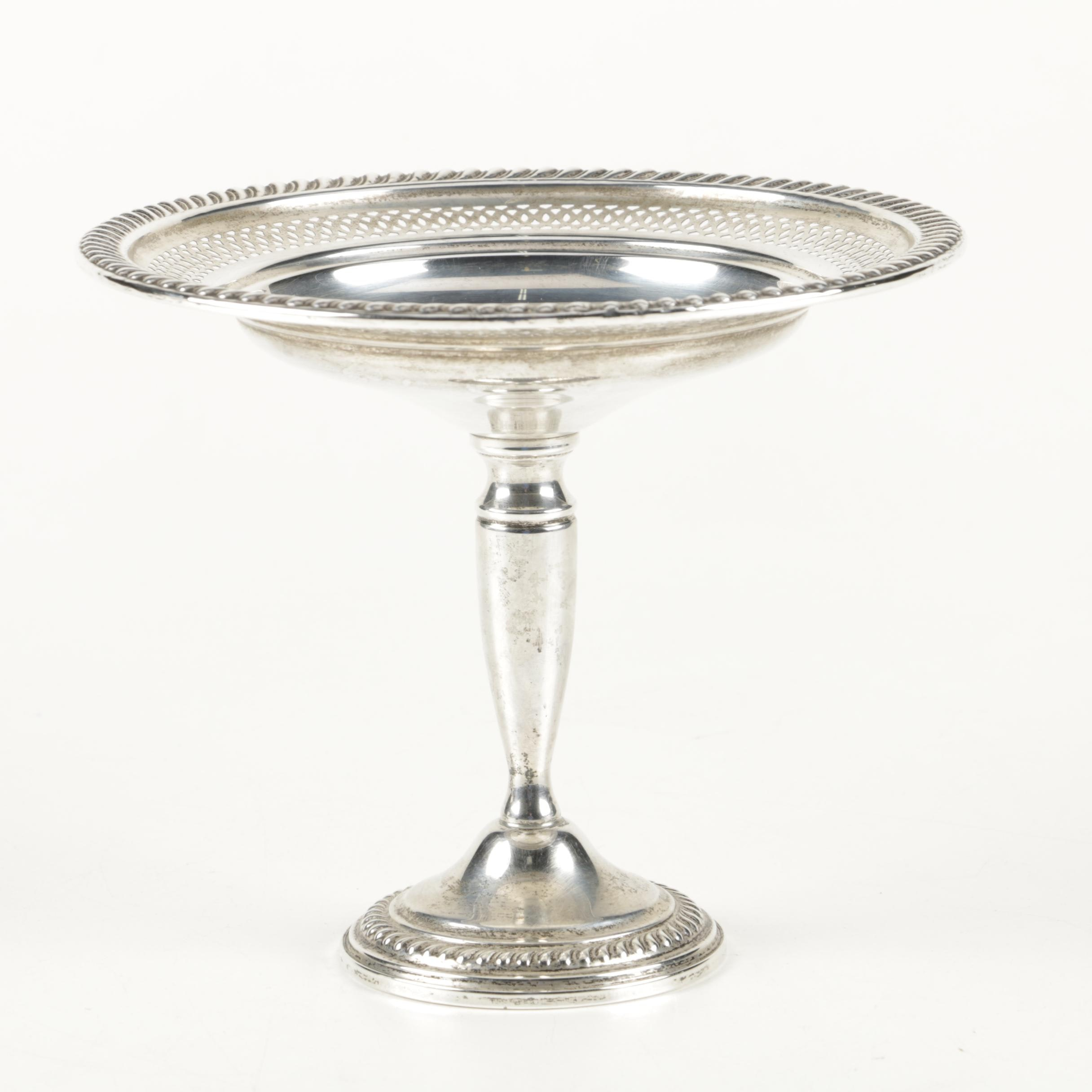 Empire Silver Co. Weighted Sterling Silver Compote