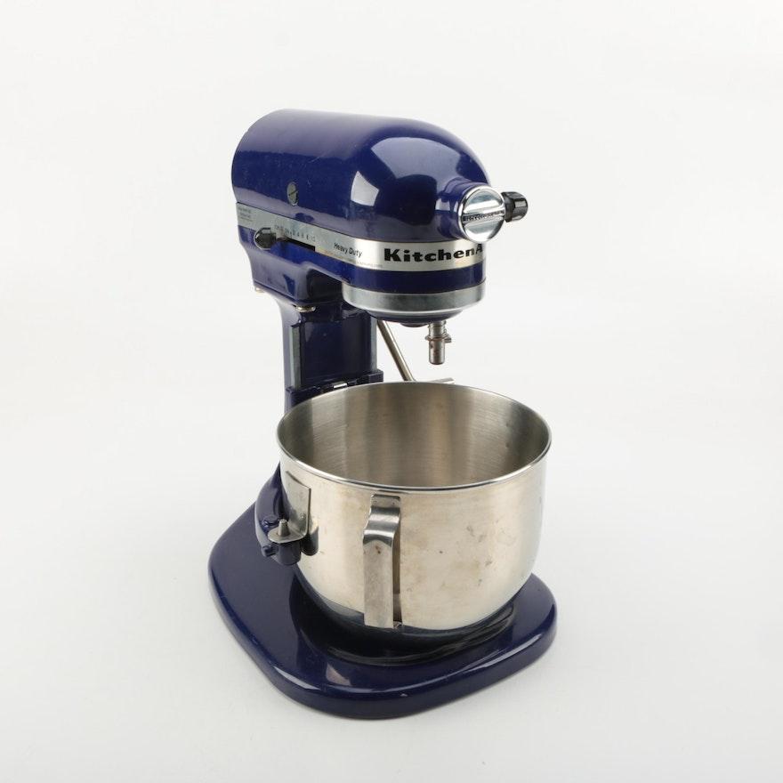 Kitchenaid Heavy Duty Cobalt Stand Mixer Ebth