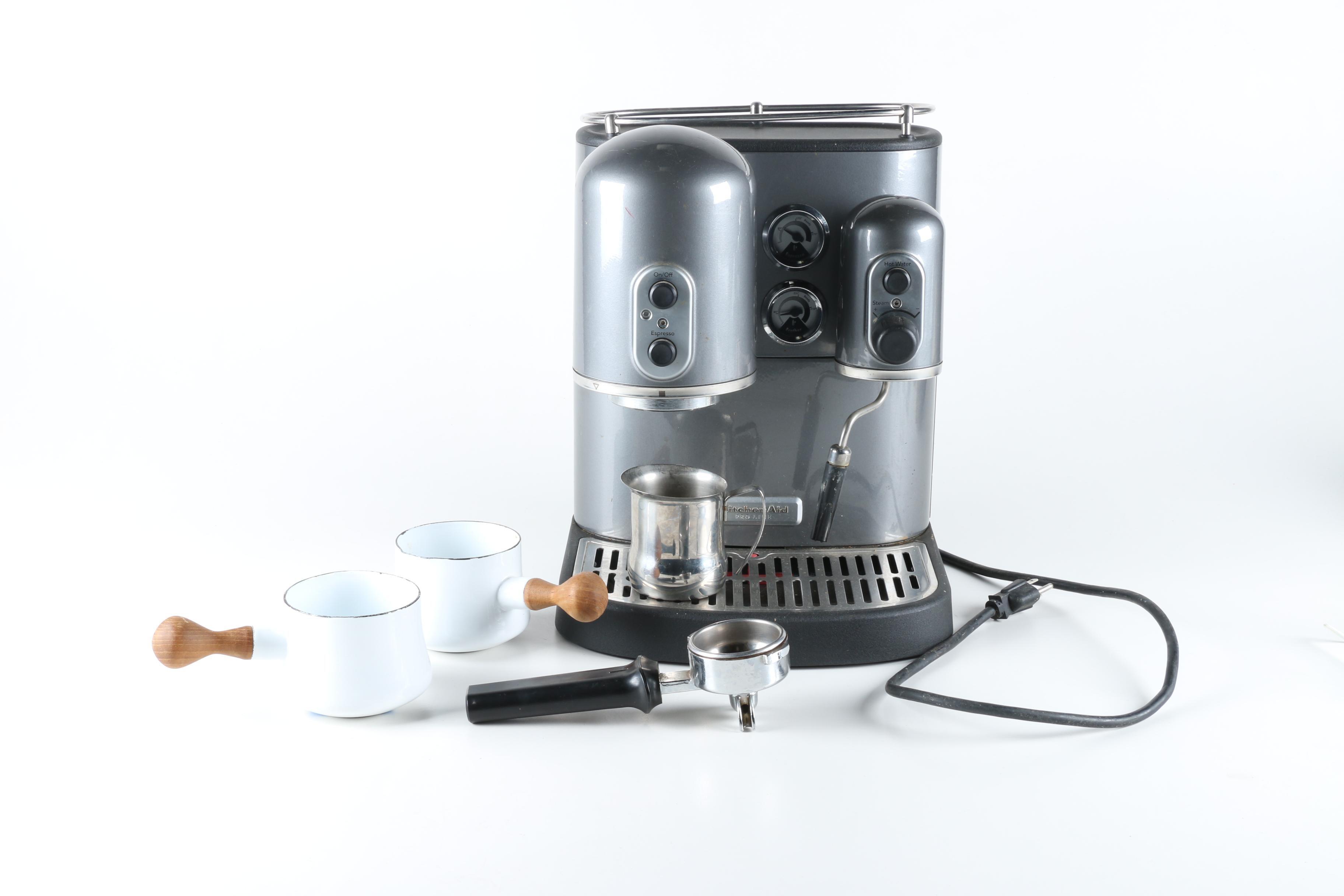 KitchenAid Pro Line Espresso Machine and Accessories