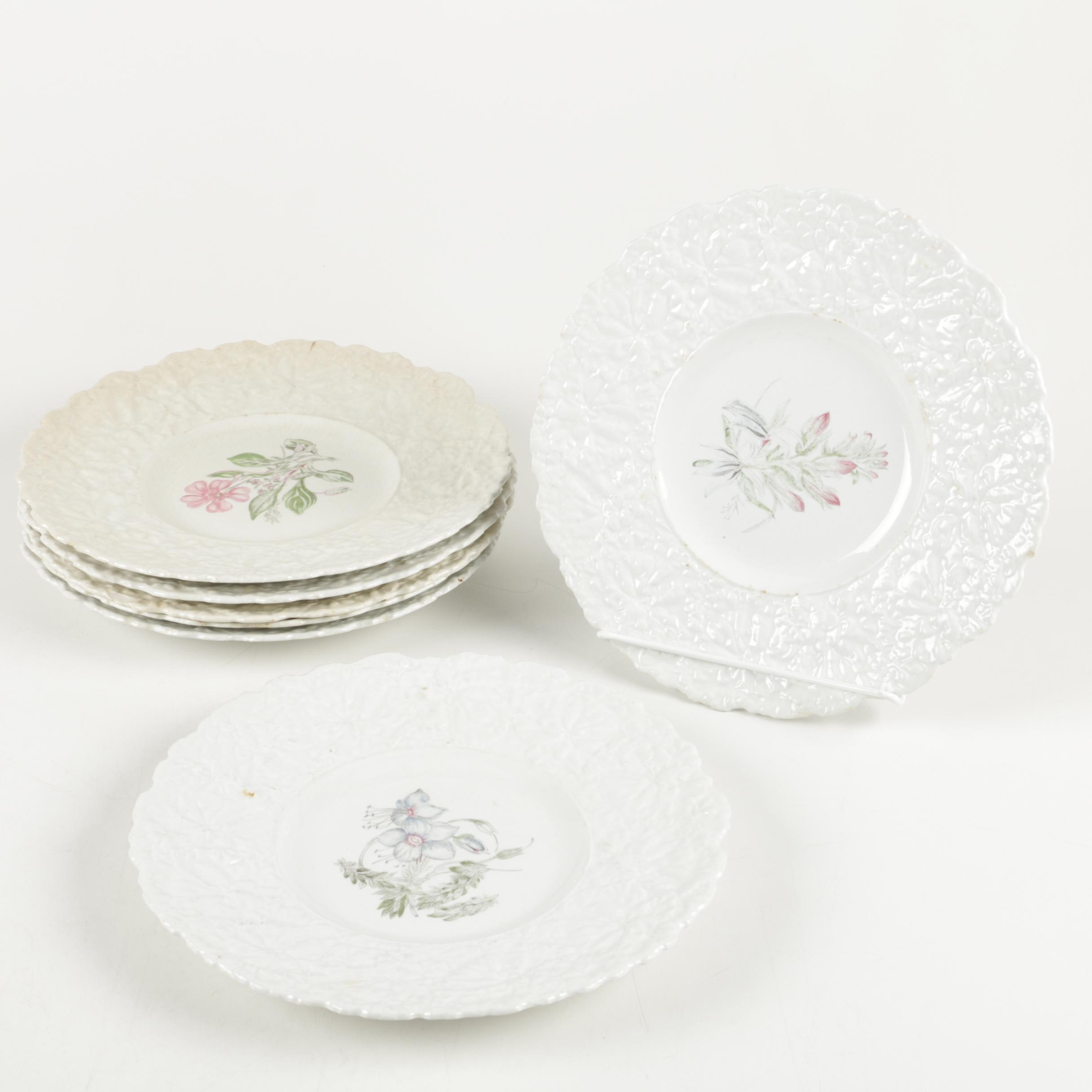 "Royal Cauldon Bristol Ironstone ""Woodstock"" Luncheon Plates"