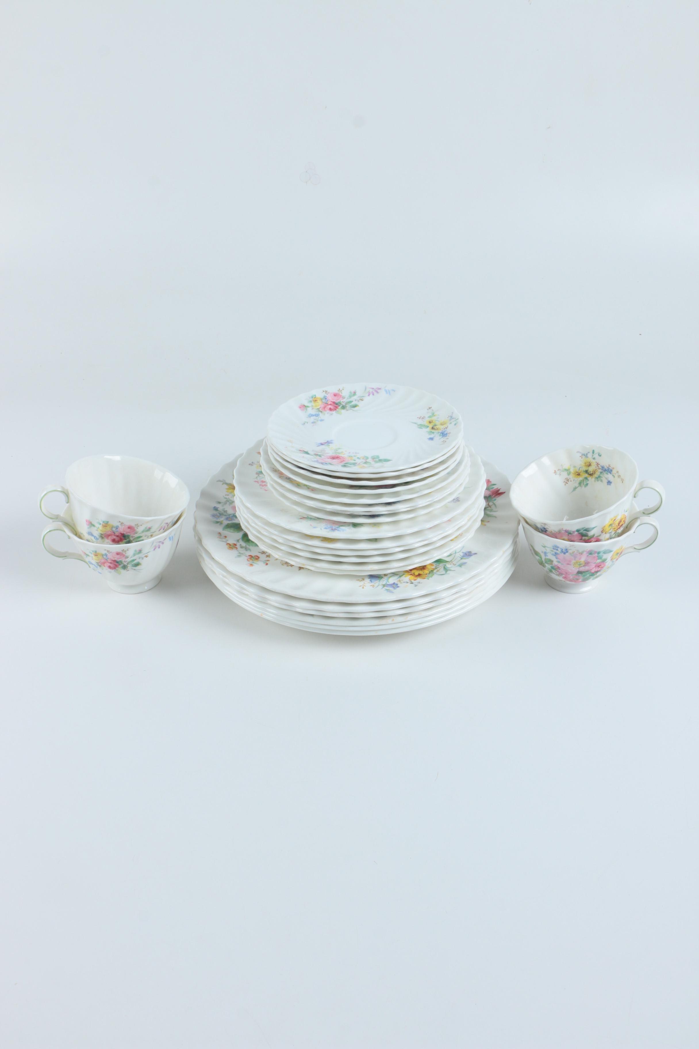 "Royal Doulton ""Arcadia"" Bone China Tableware"