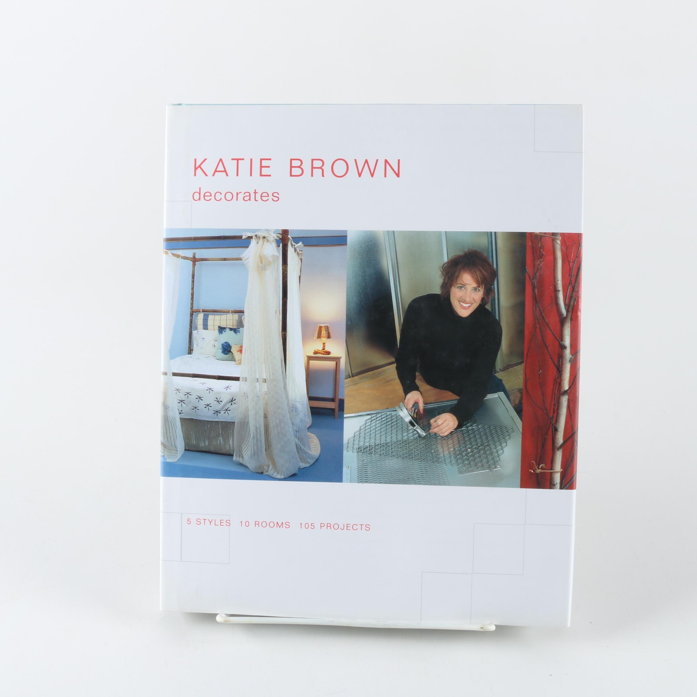 """Katie Brown Decorates"" Autographed Book"