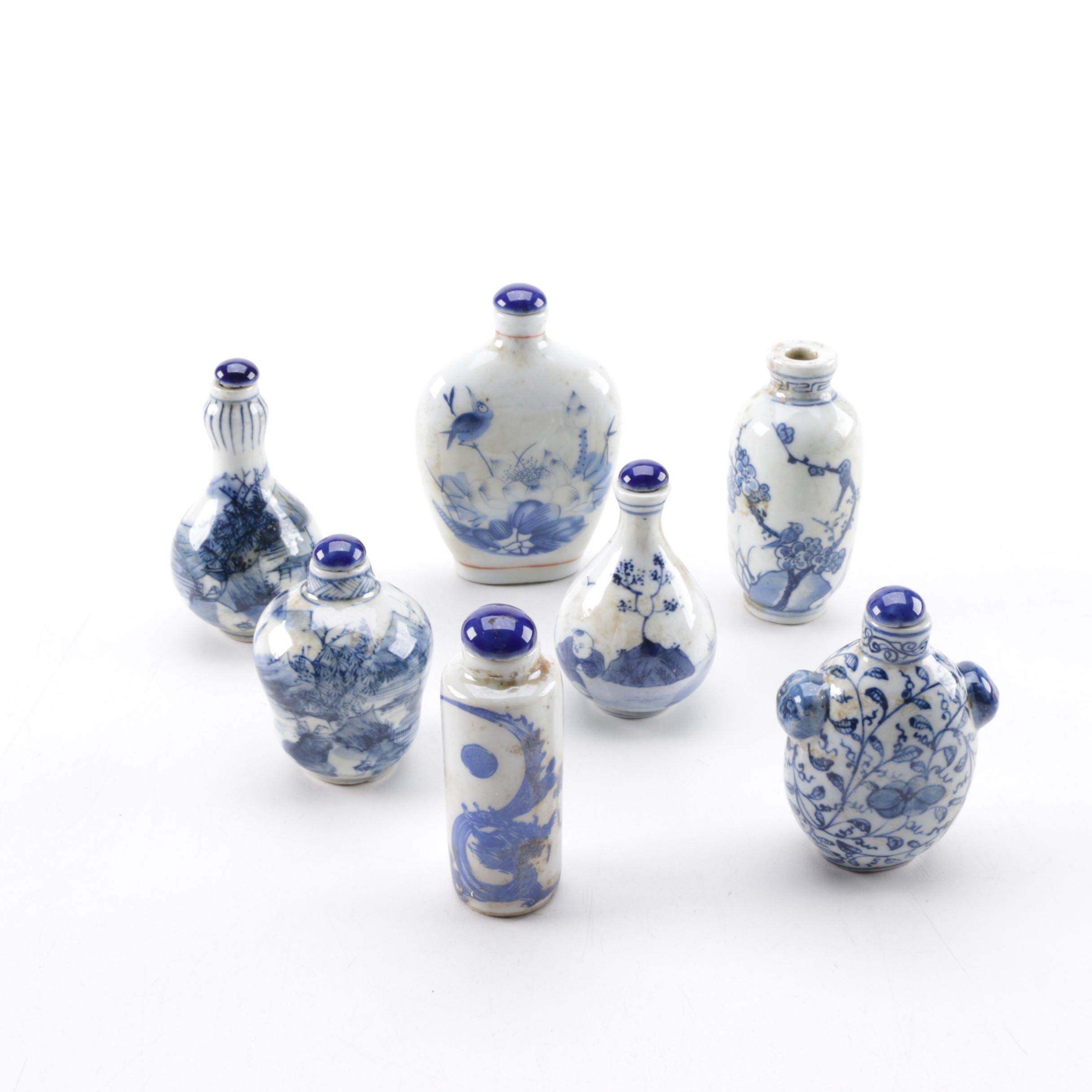 Chinese Ceramic Snuff Bottles