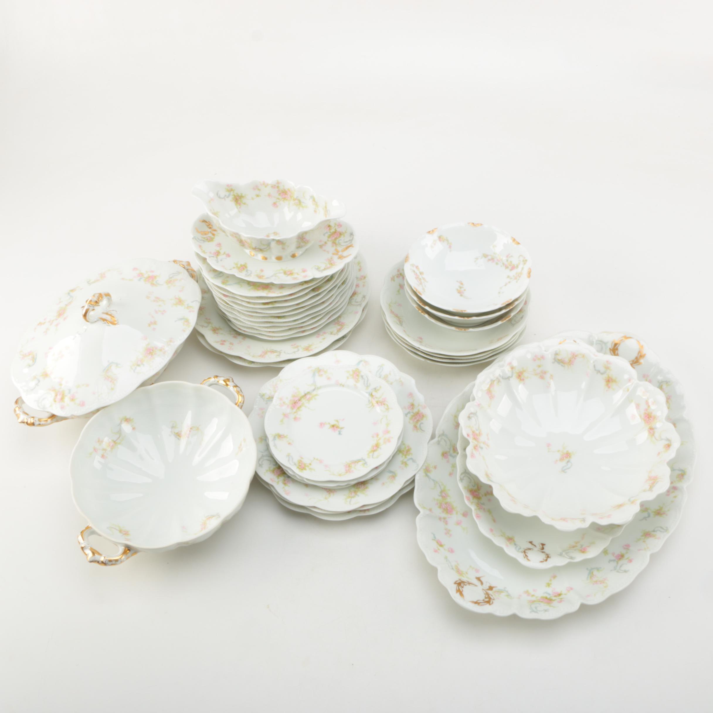 "Vintage Haviland Limoges ""The Princess"" Tableware"