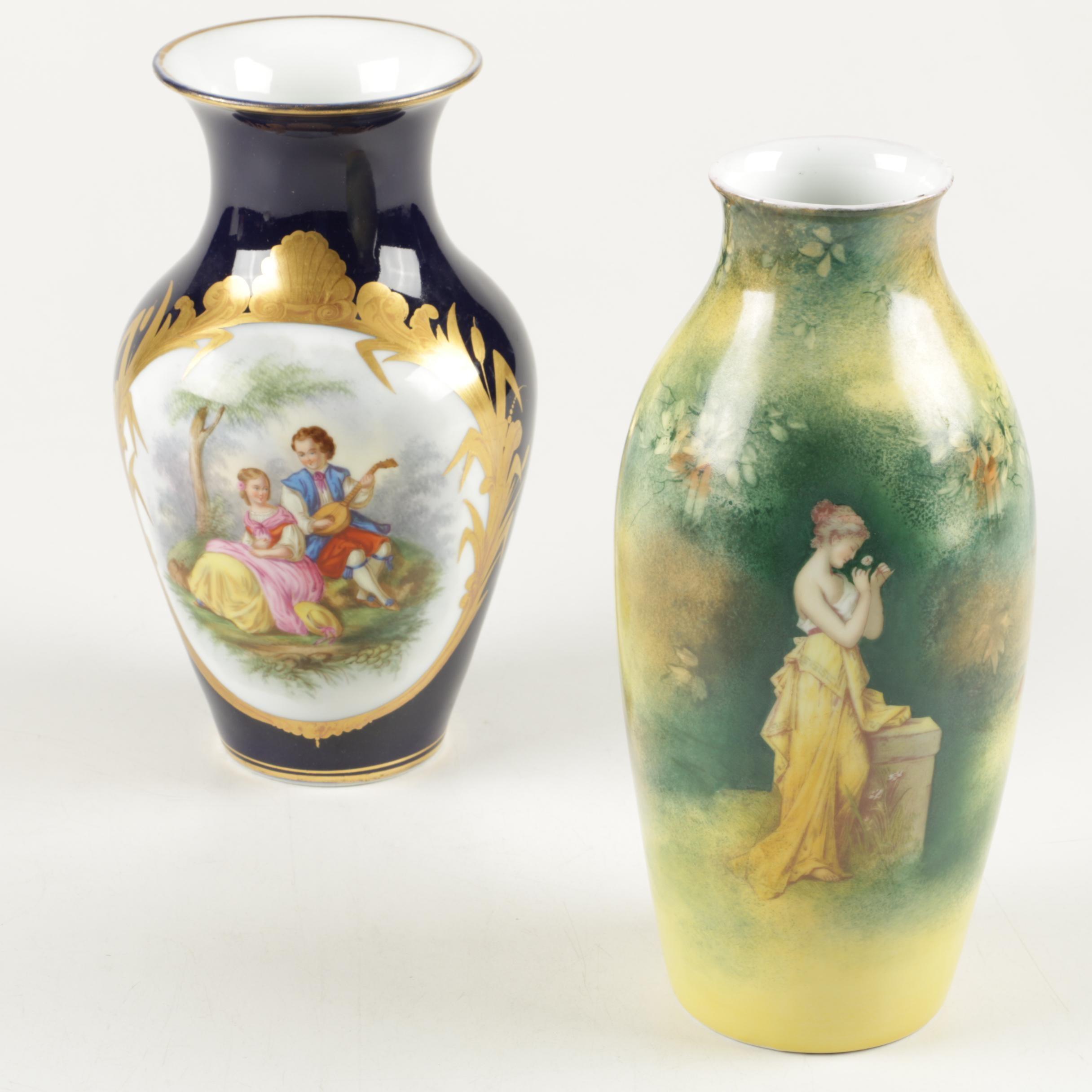 Vintage Porcelain Vases