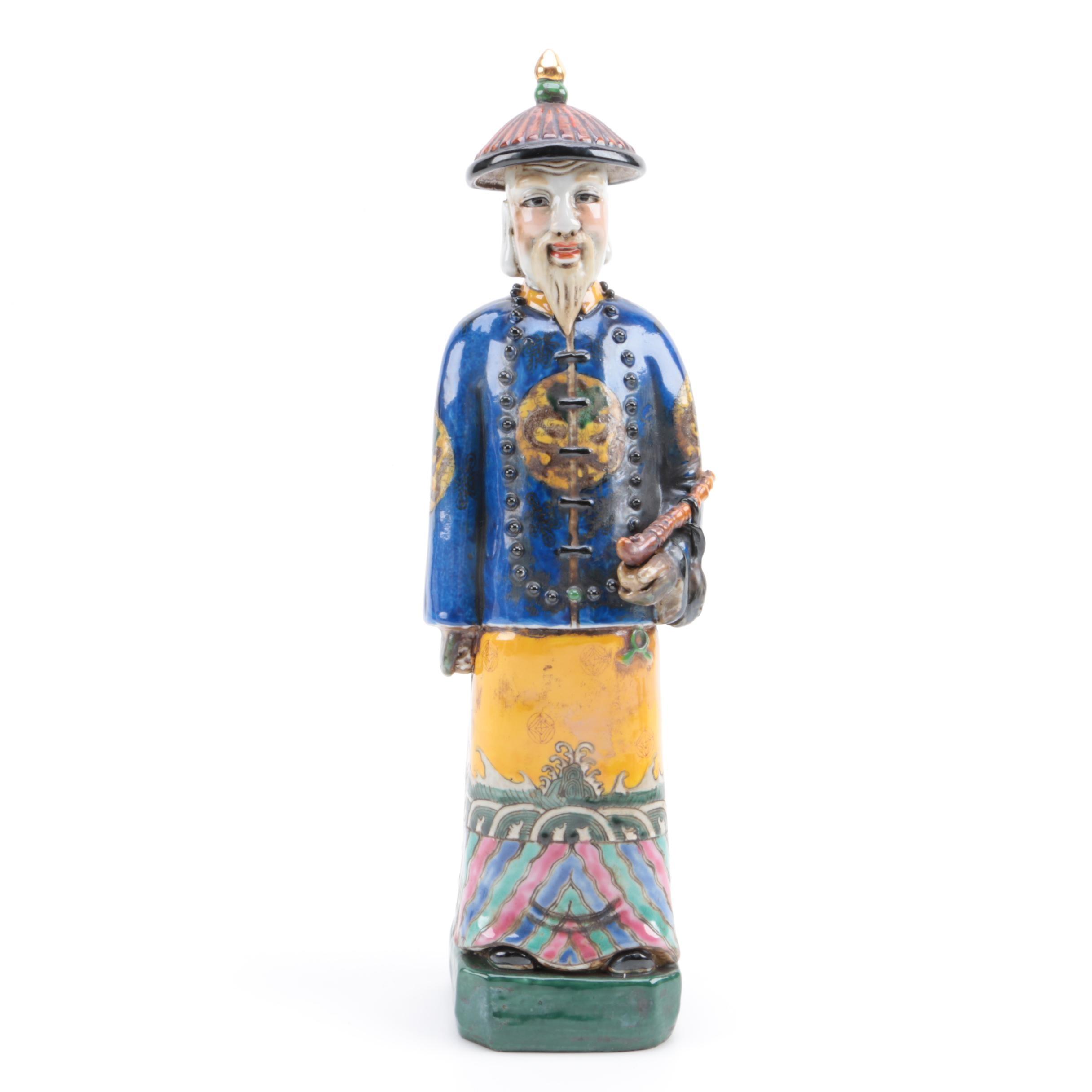 Chinese Ceramic Statue