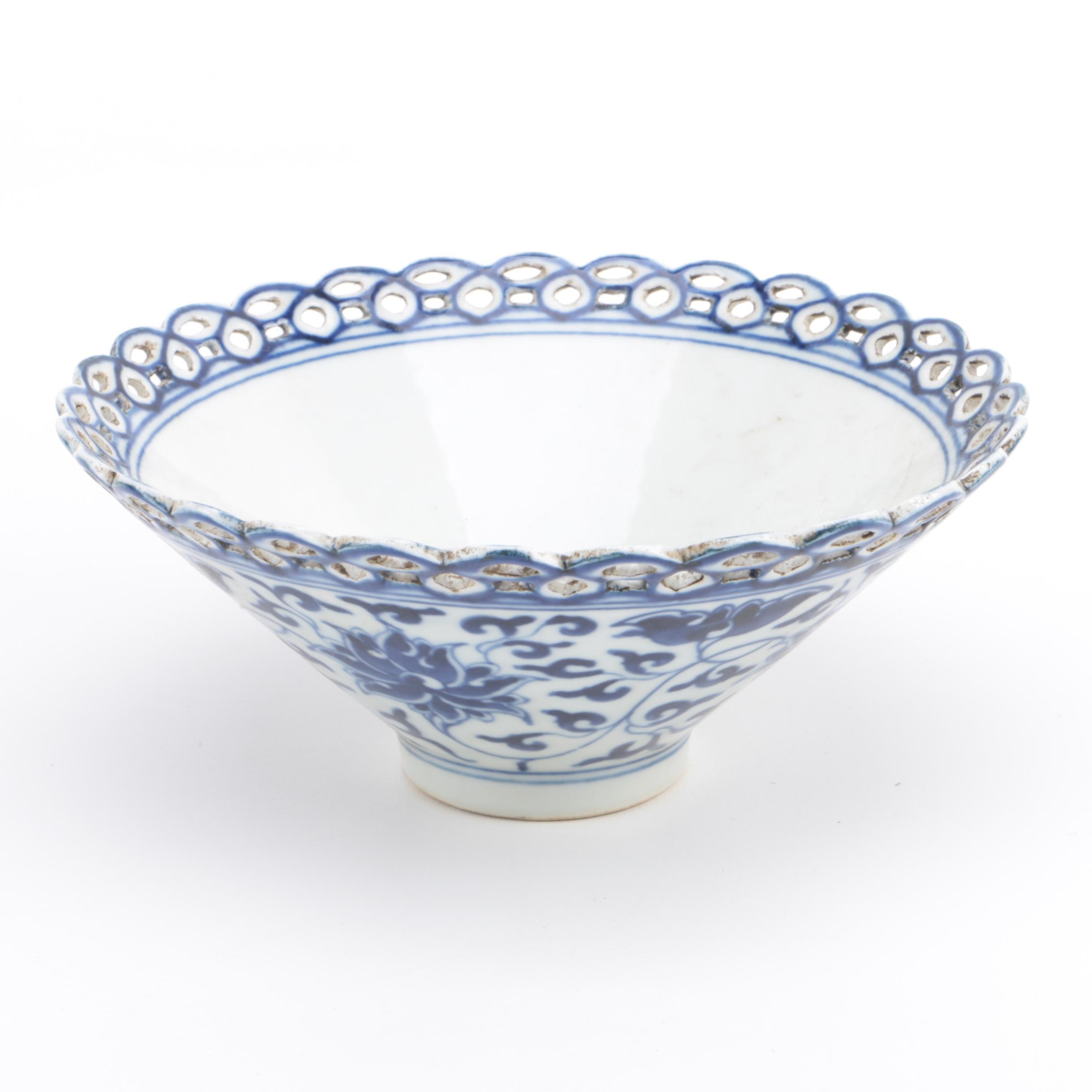 Chinese Decorative Ceramic Bowl