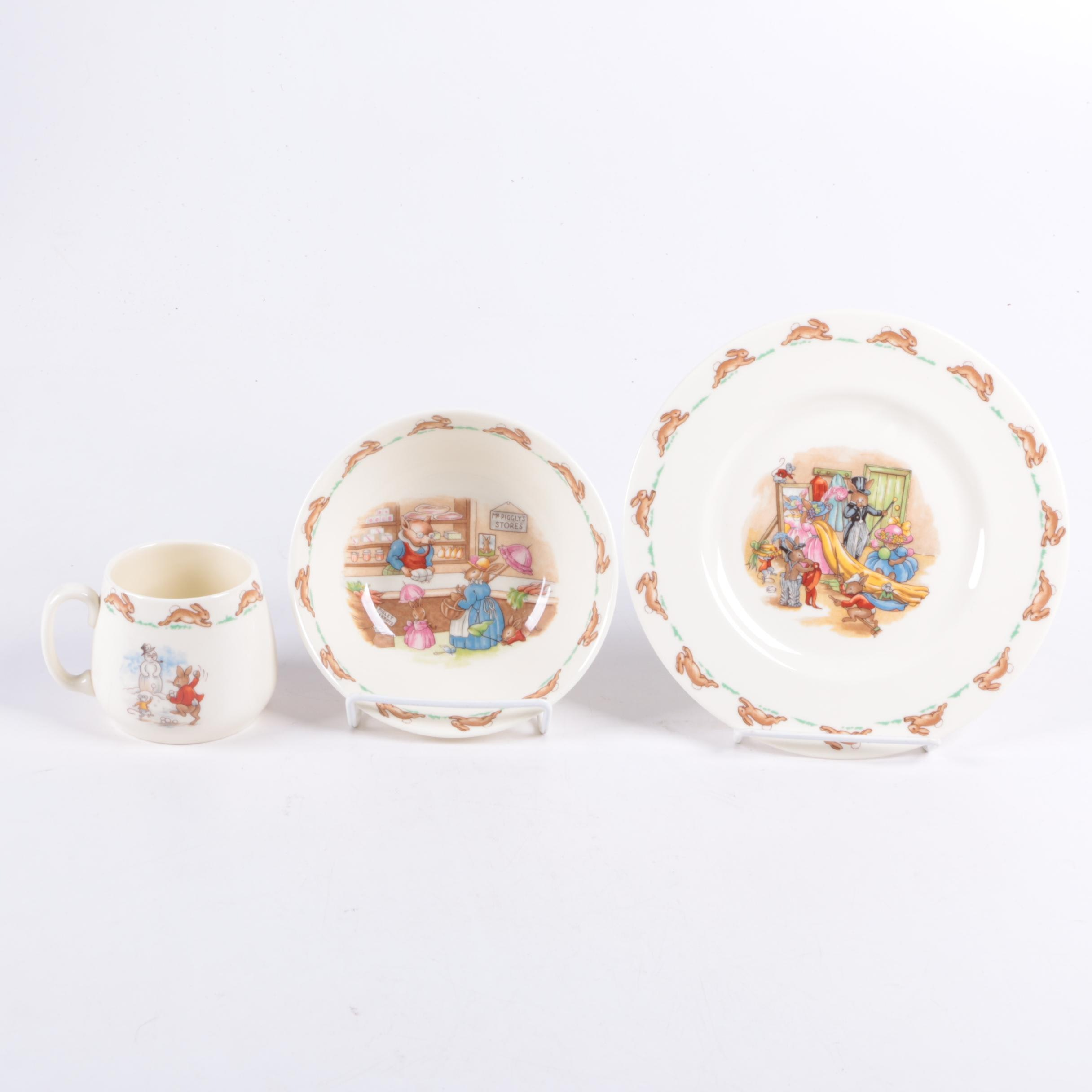"Royal Doulton ""Bunnykins"" China Set"
