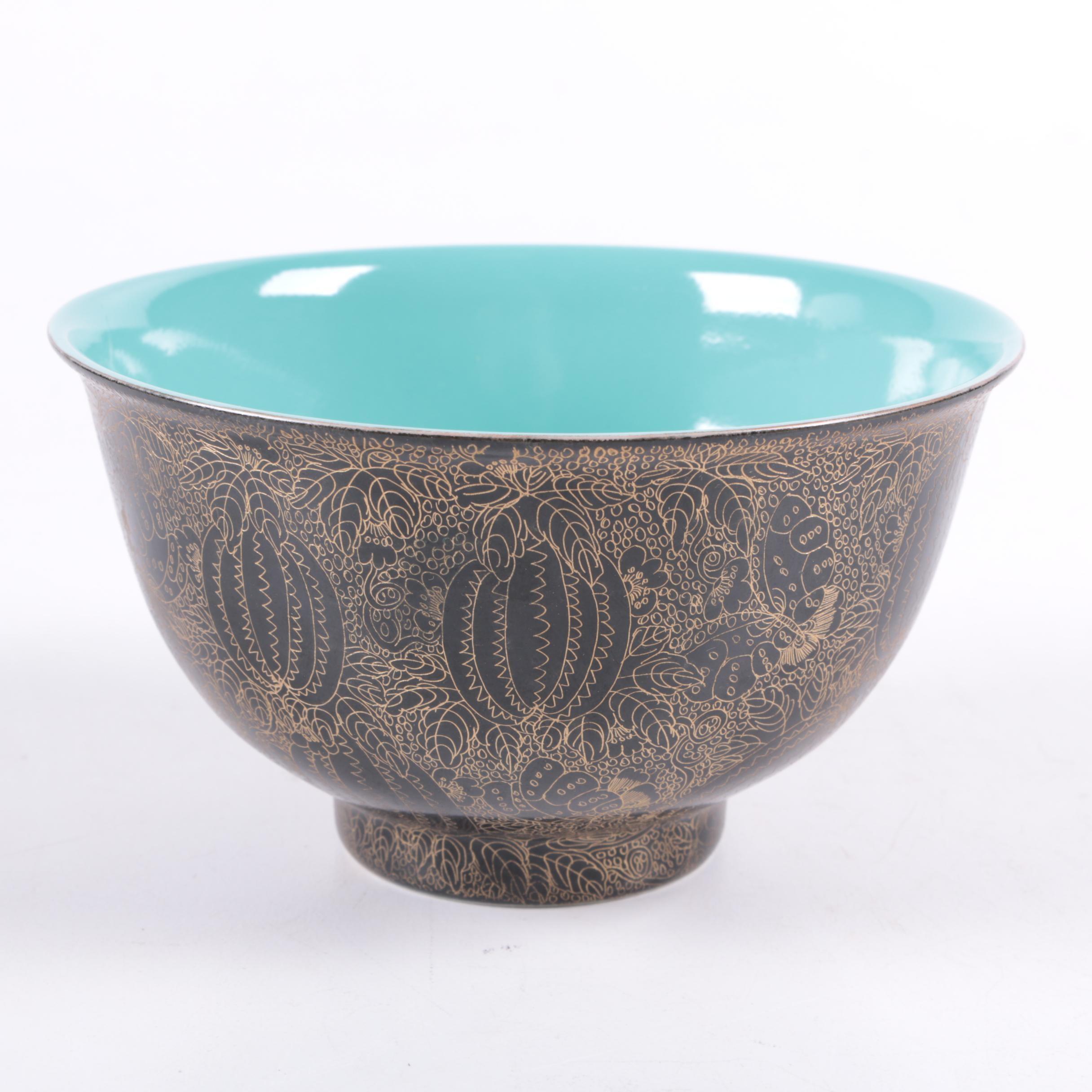 Decorative Chinese Porcelain Bowl