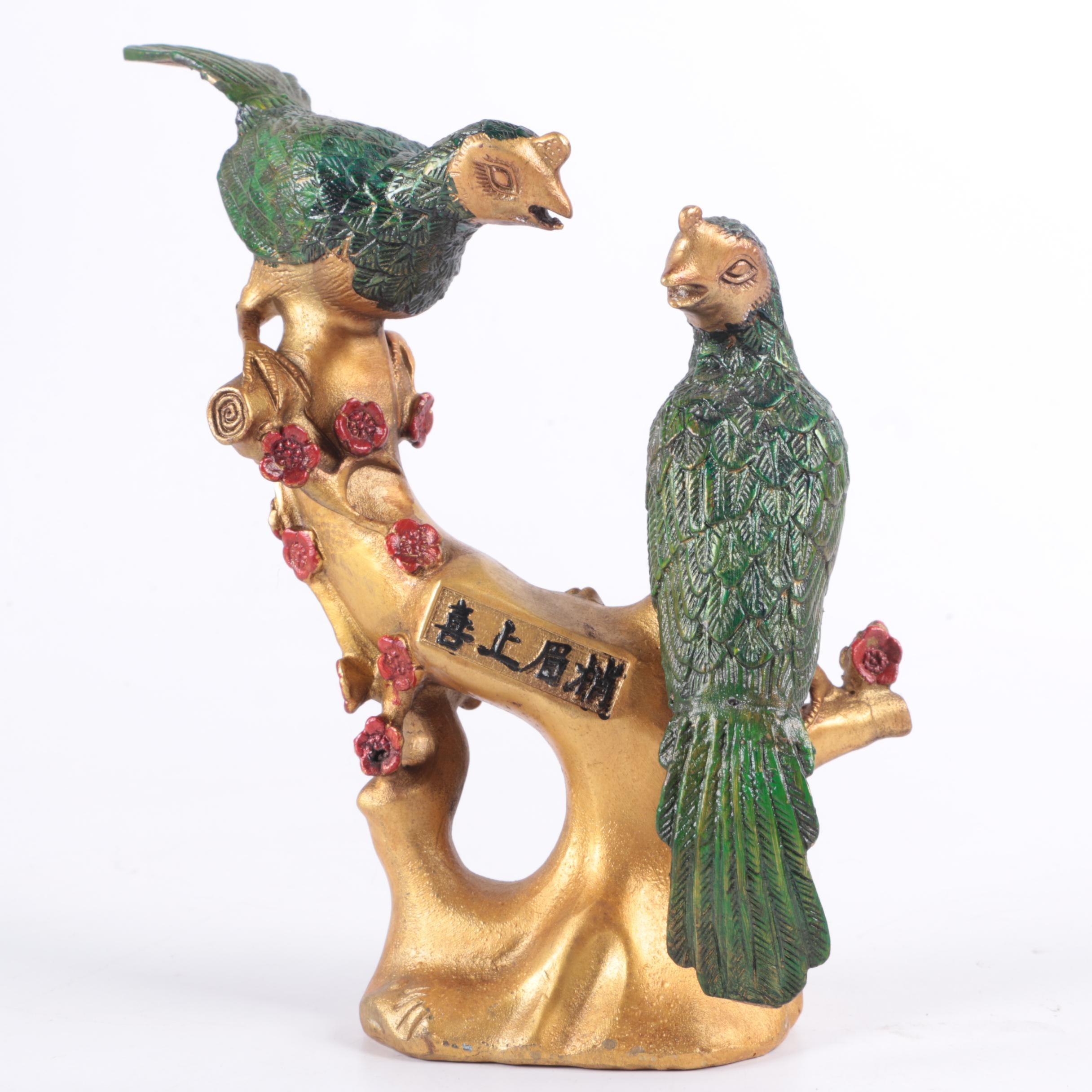 Chinese Bird Figurine