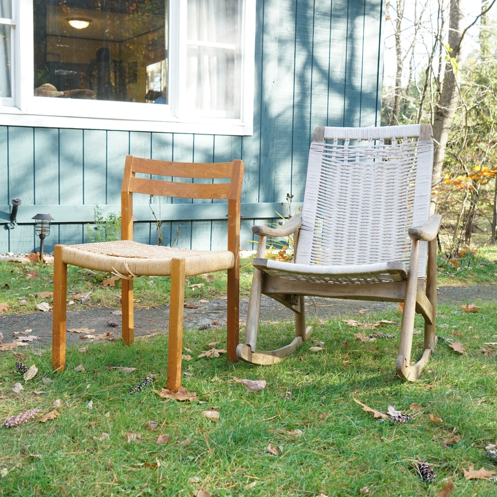 Danish Modern Chairs, including JL Moller