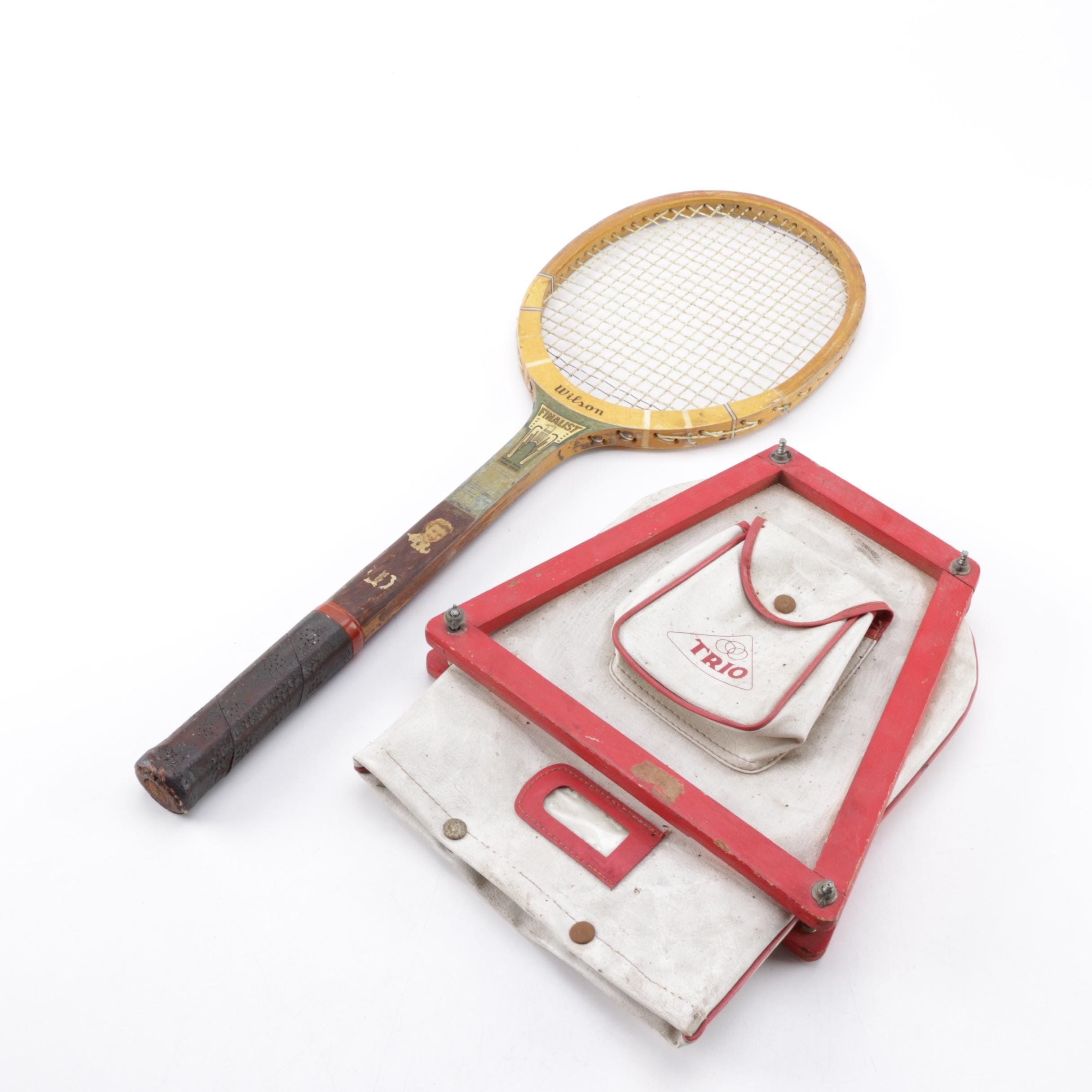 Wilson Finalist Tennis Racket with Case