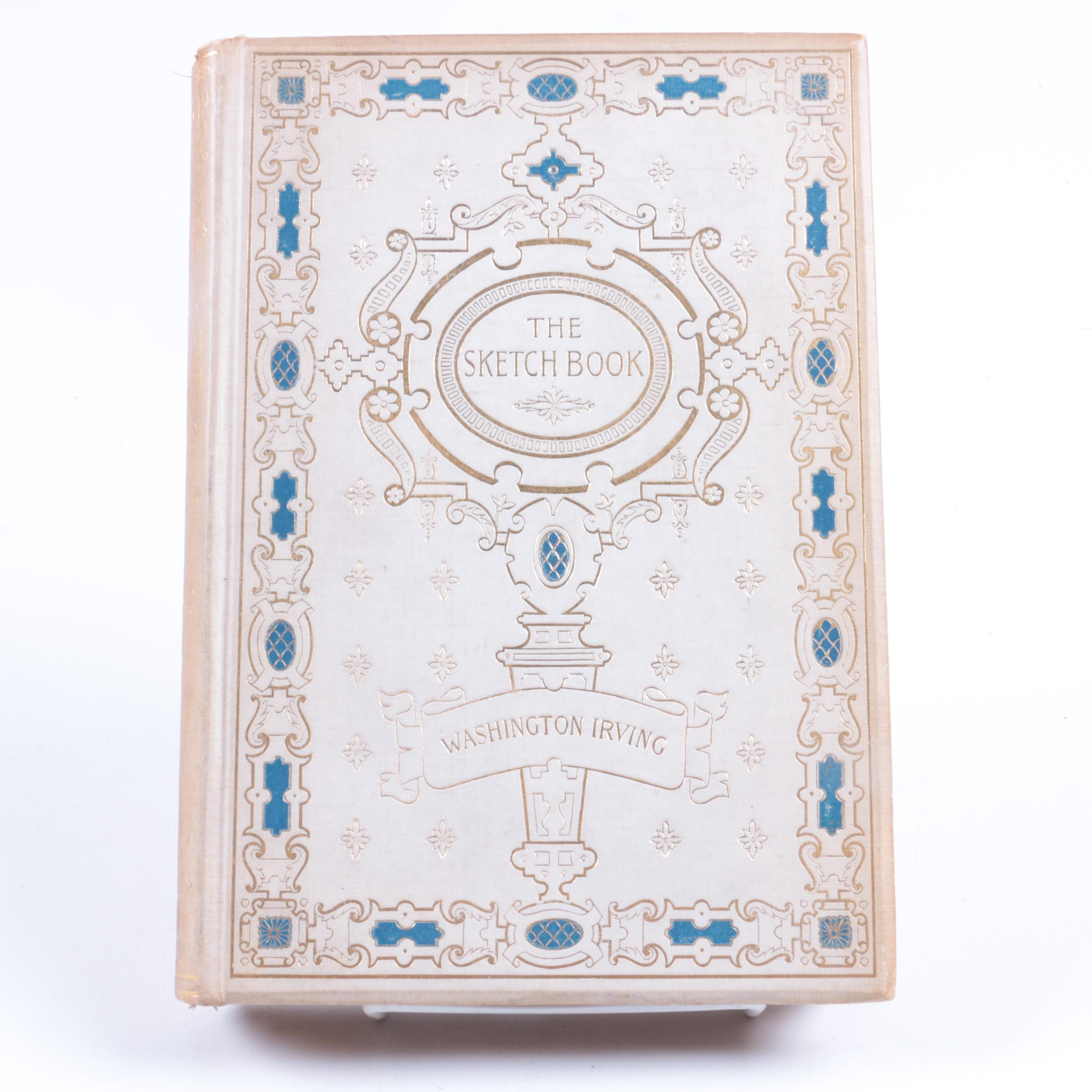 "1895 ""The Sketch-Book of Geoffrey Crayon, Gent."" by Washington Irving"