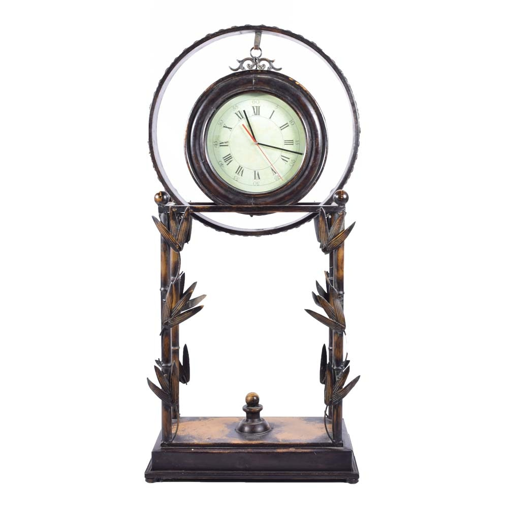 Contemporary Iron Floor Clock ...