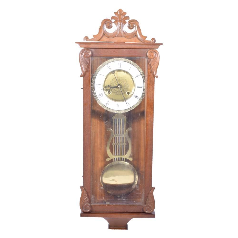 Vintage Art Nouveau Wall Clock