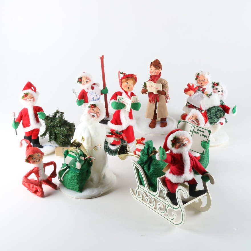 vintage annalee mobilitee christmas dolls - Annalee Christmas Decorations