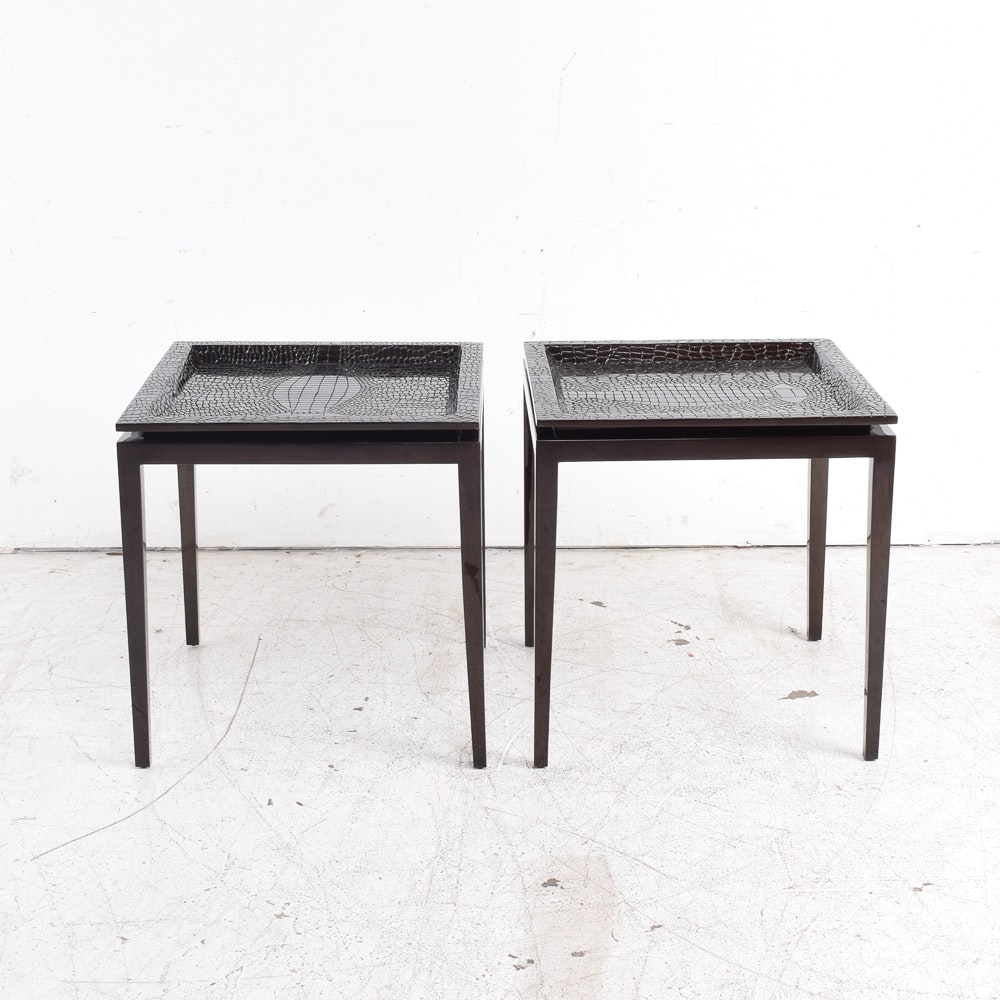 Tray Top Side Tables