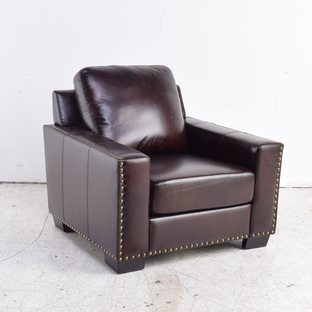Leather Club Chair by Abbyson Living