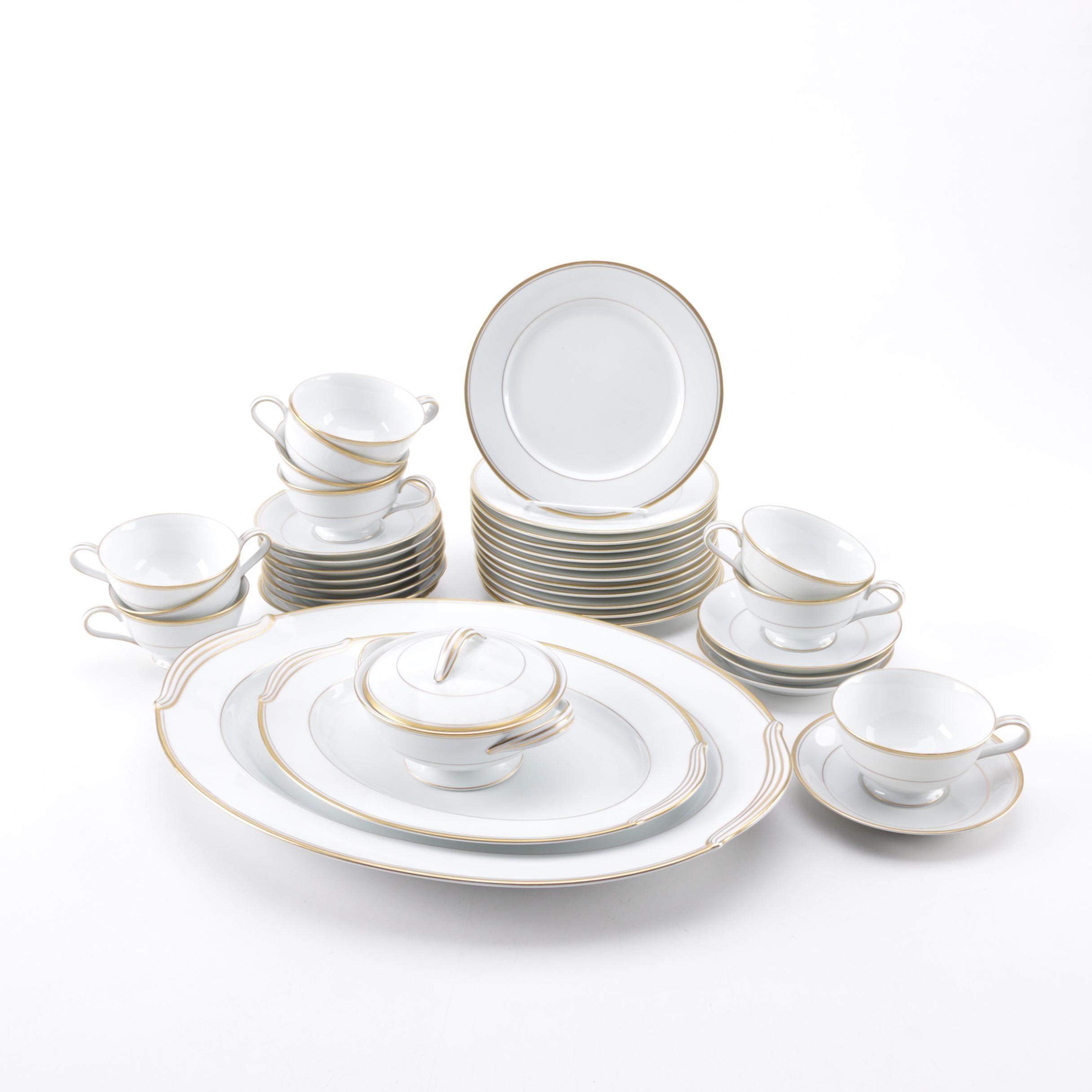 "Noritake ""Goldart"" Porcelain Dinnerware"