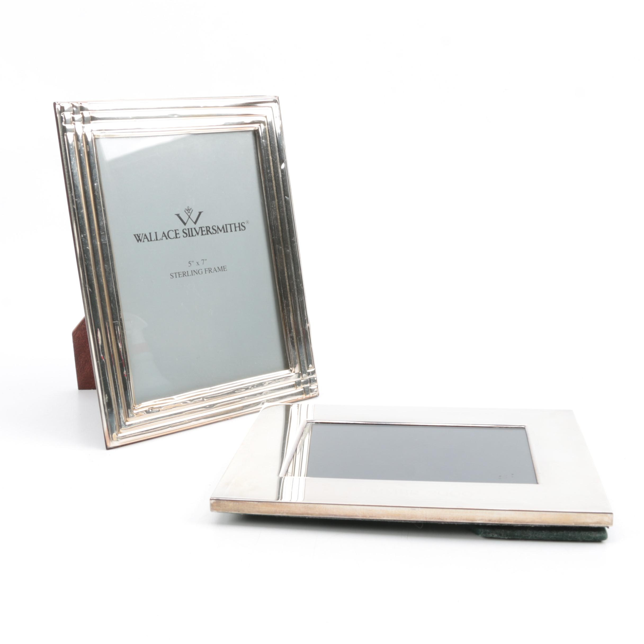 Wallace Silversmiths Sterling Silver Photograph Frame and Other Silver Frame
