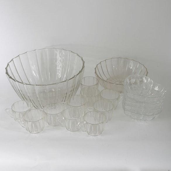 Depression Glass Pressed Glass Serveware