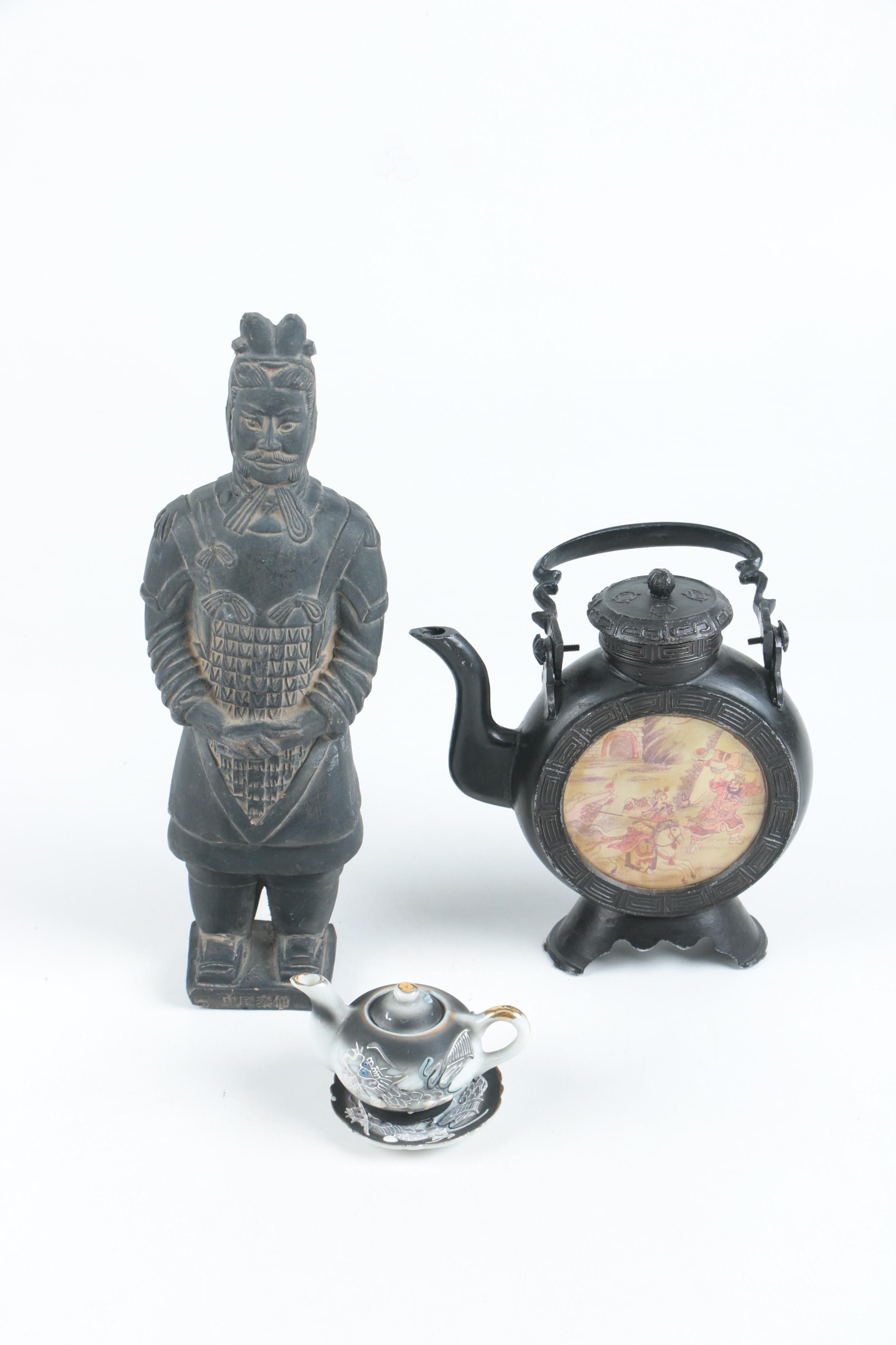 Vintage Asian Decor Assortment
