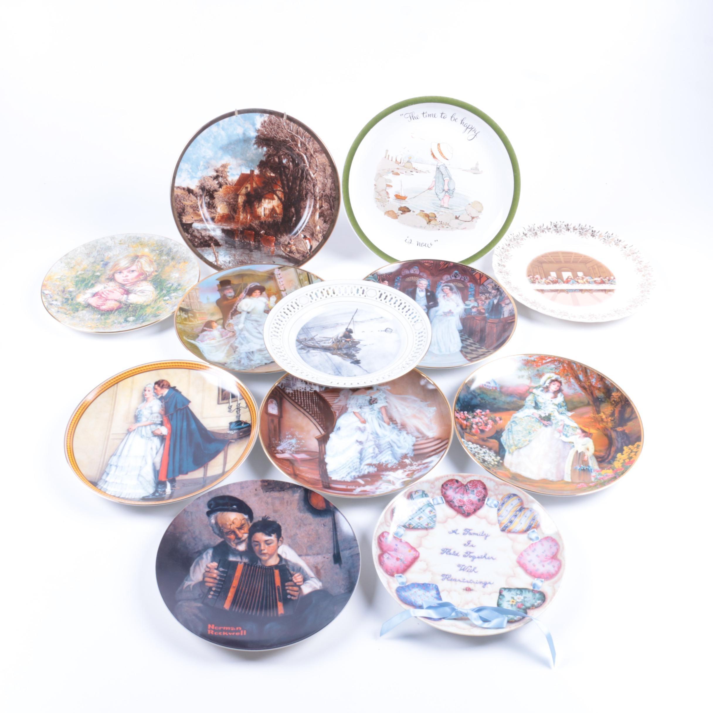 Decorative Ceramic Plate Collection