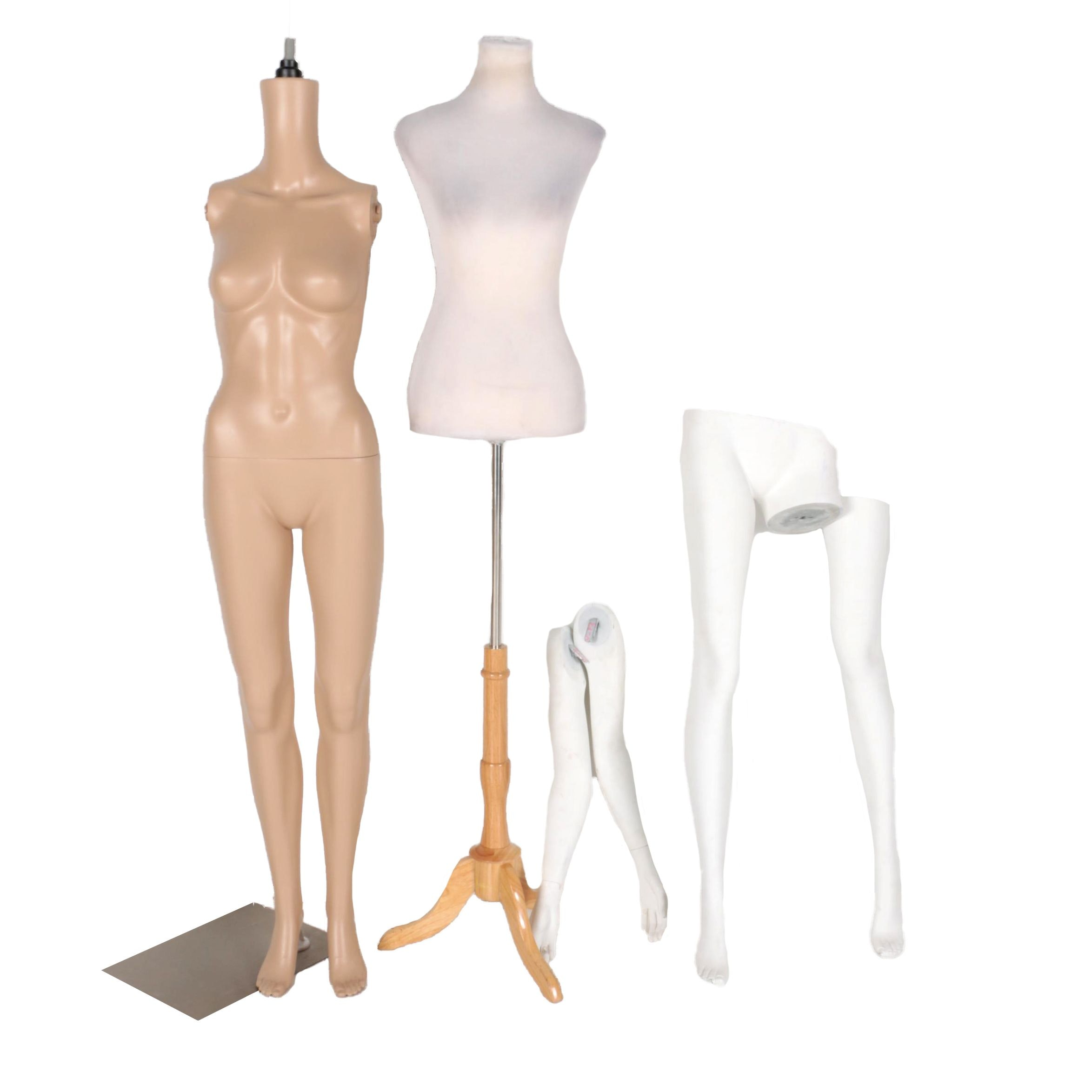 Dress Form and Mannequin Parts
