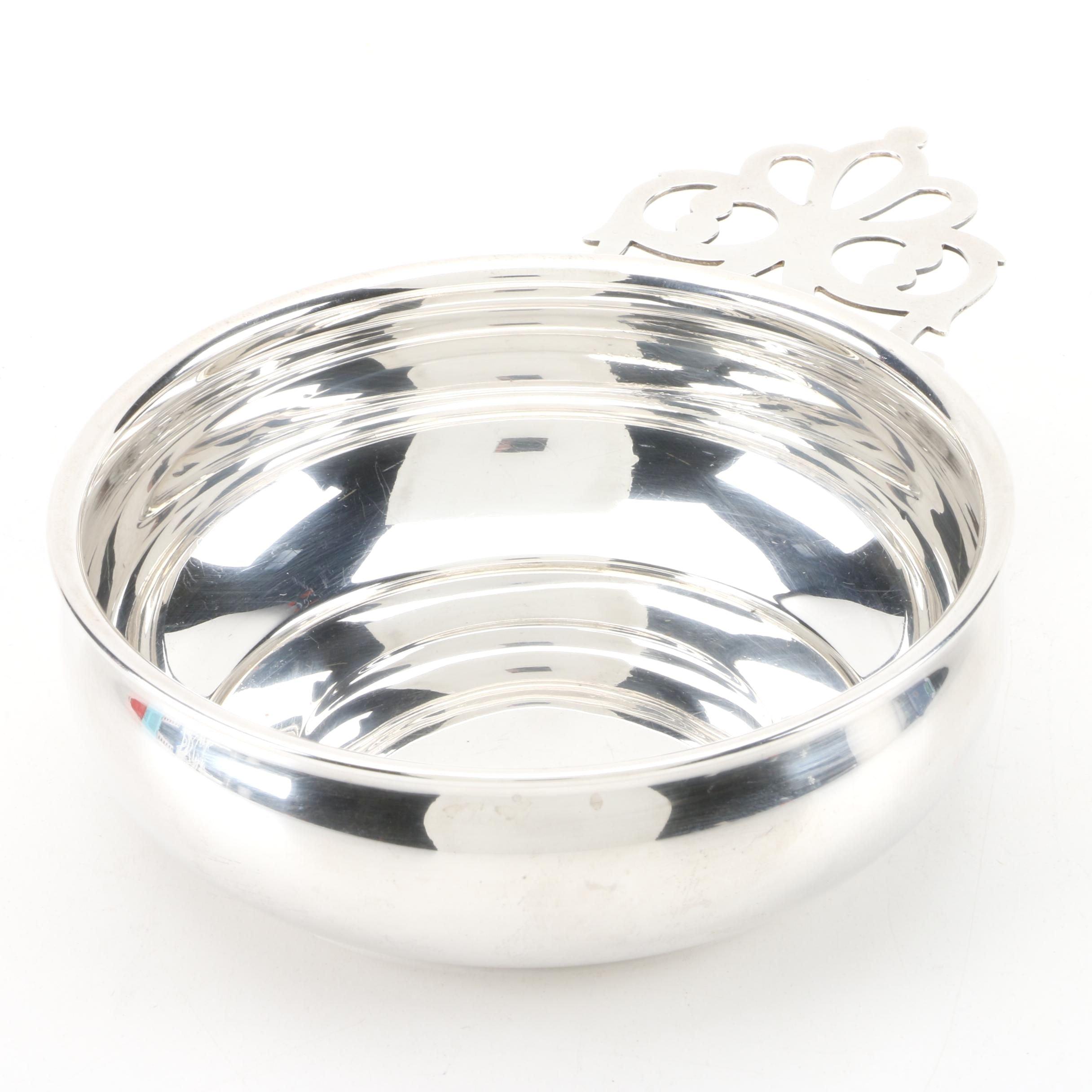 Web Silver Co. Sterling Silver Porringer