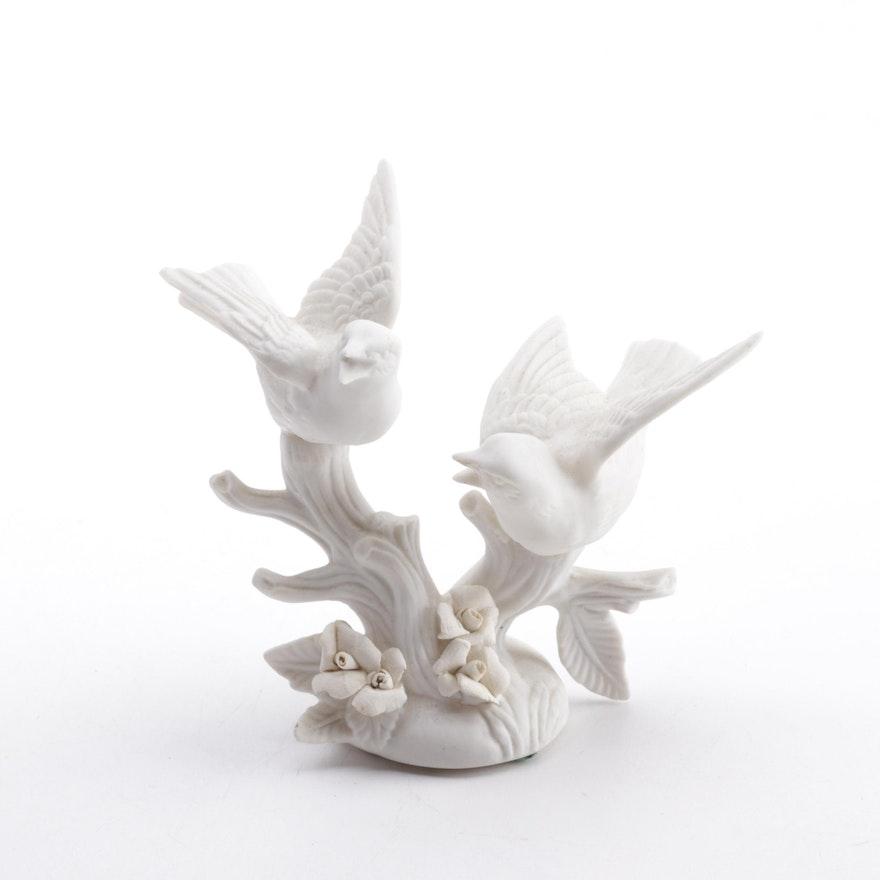 Porcelain Birds Figurine
