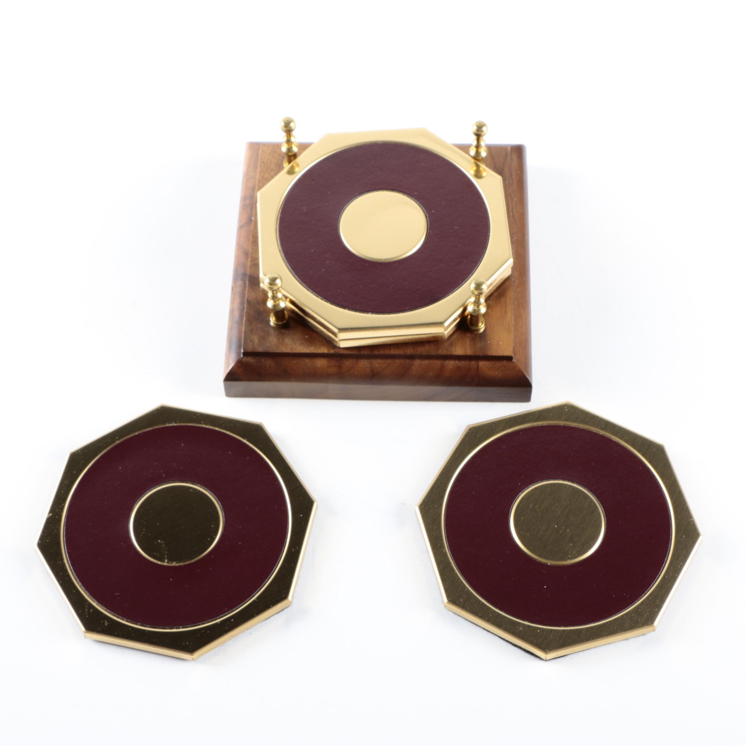 Hermès Octagonal Coaster Set
