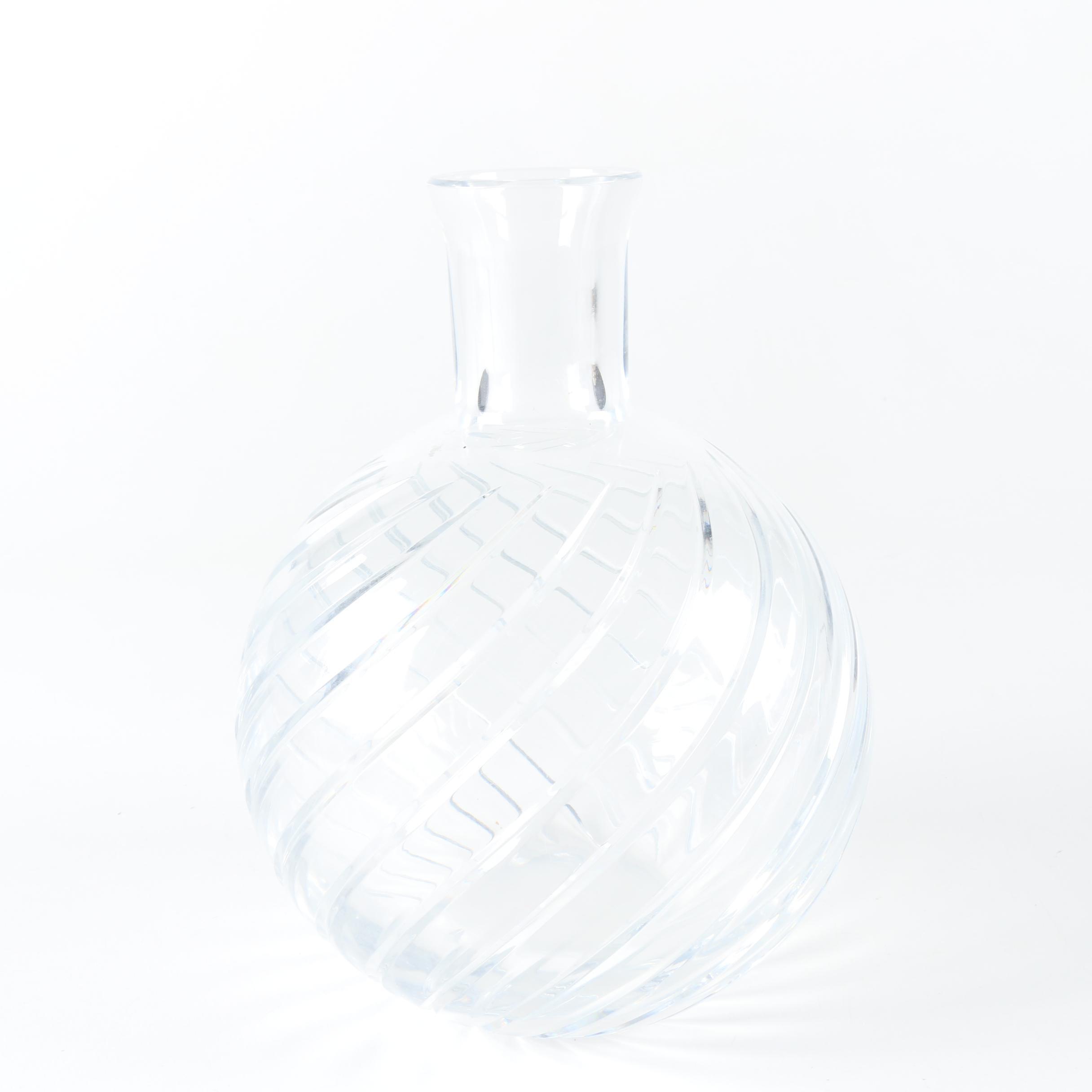 """Vintage Baccarrat """"Cyclades"""" Crystal Vase"""