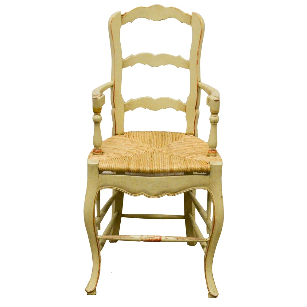 French Provincial Ladder-Back Chair
