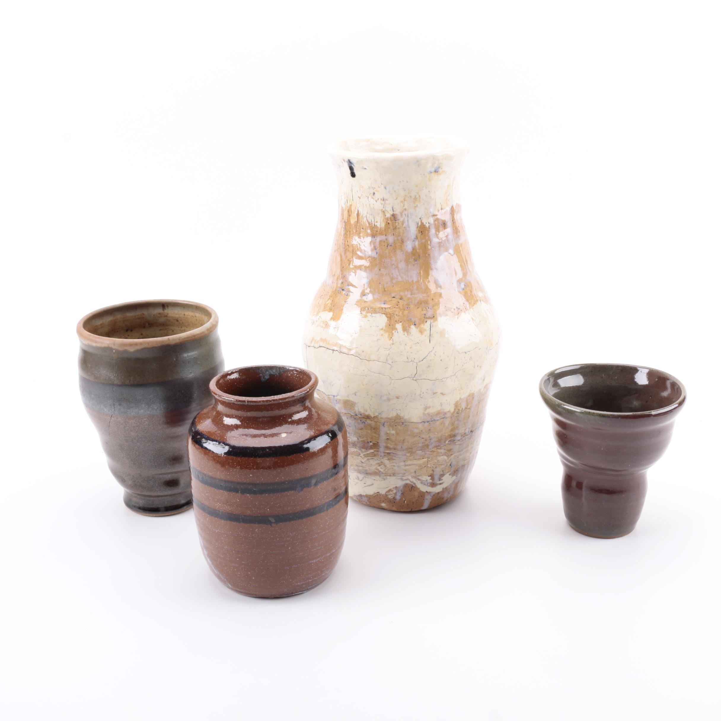 Tom Smith, Veronica DeLay and Deb Harmon Signed Art Pottery Collection