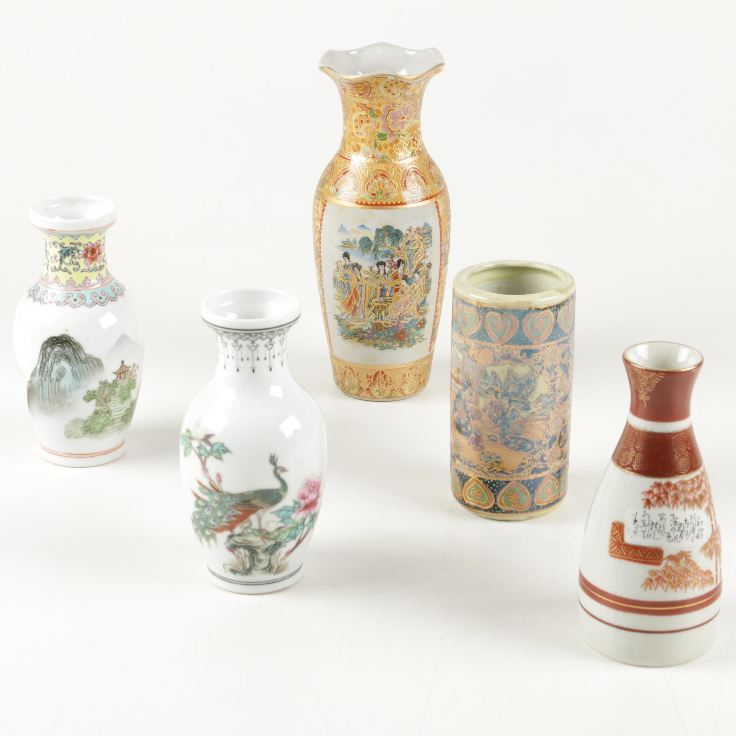 Ceramic and Porcelain Vases