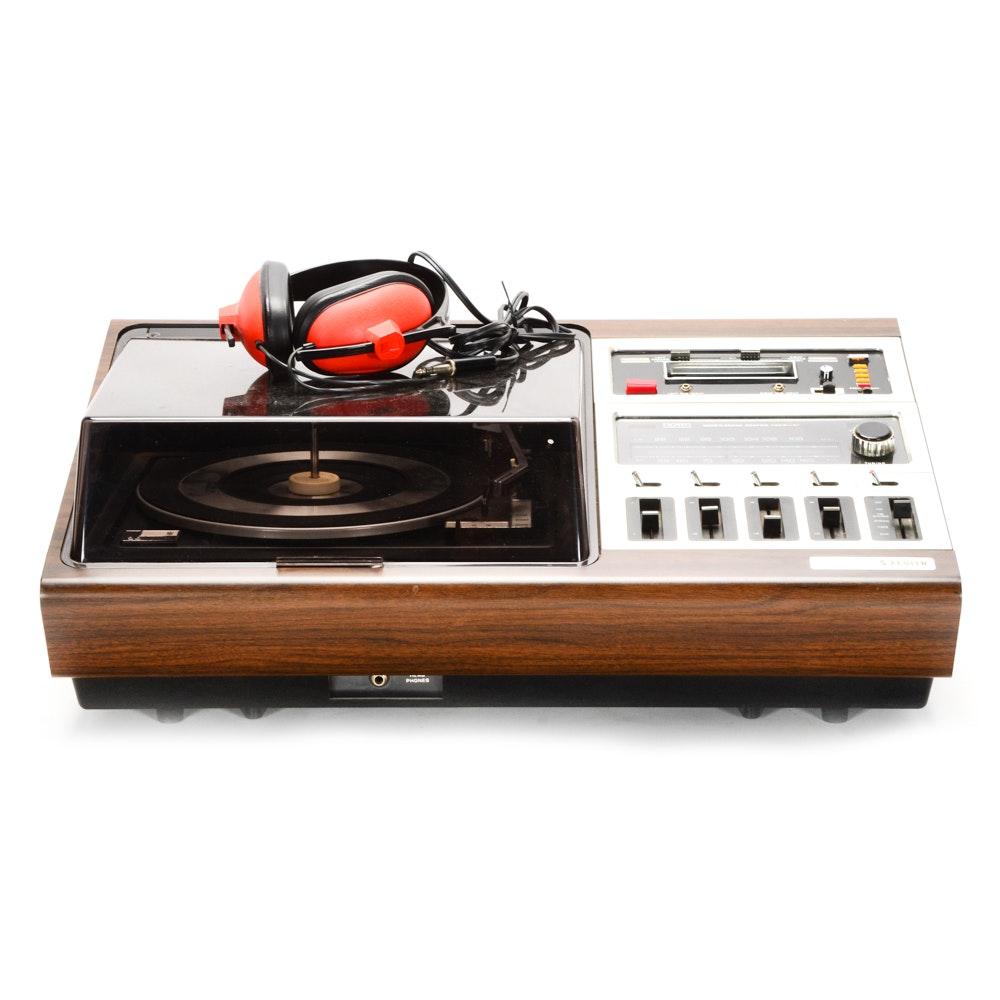 """Zenith """"Allegro"""" Record Player/FM Tuner"""