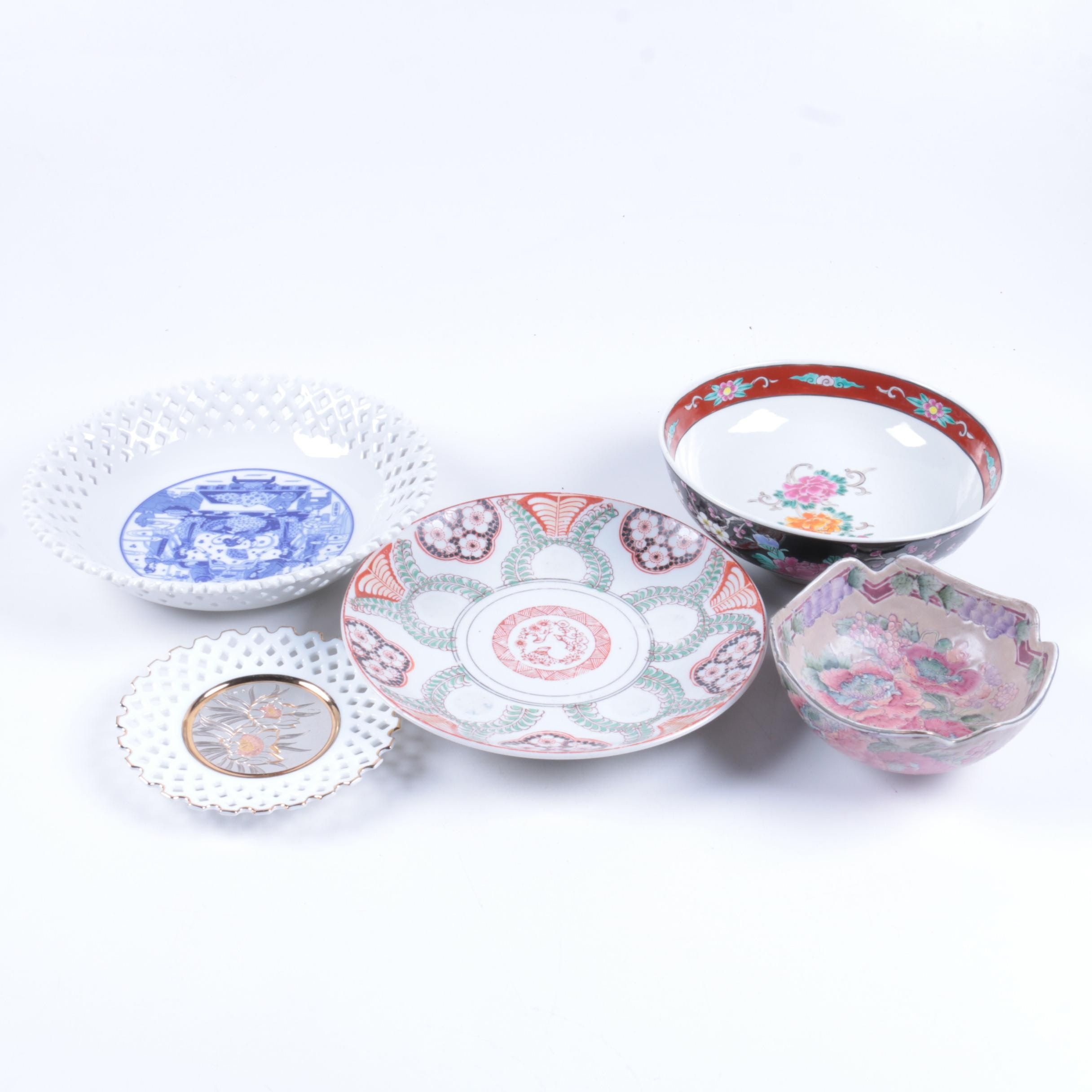 Vintage Chinese and Japanese Tableware