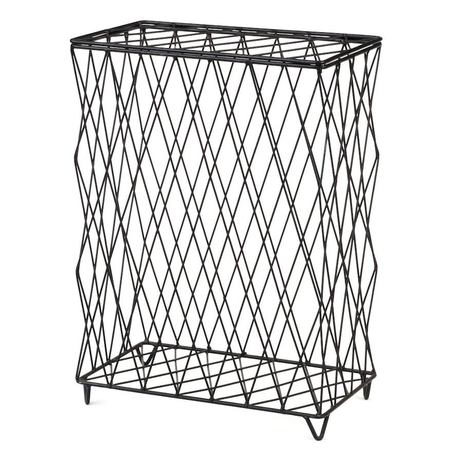 Metal Wire Bin : EBTH